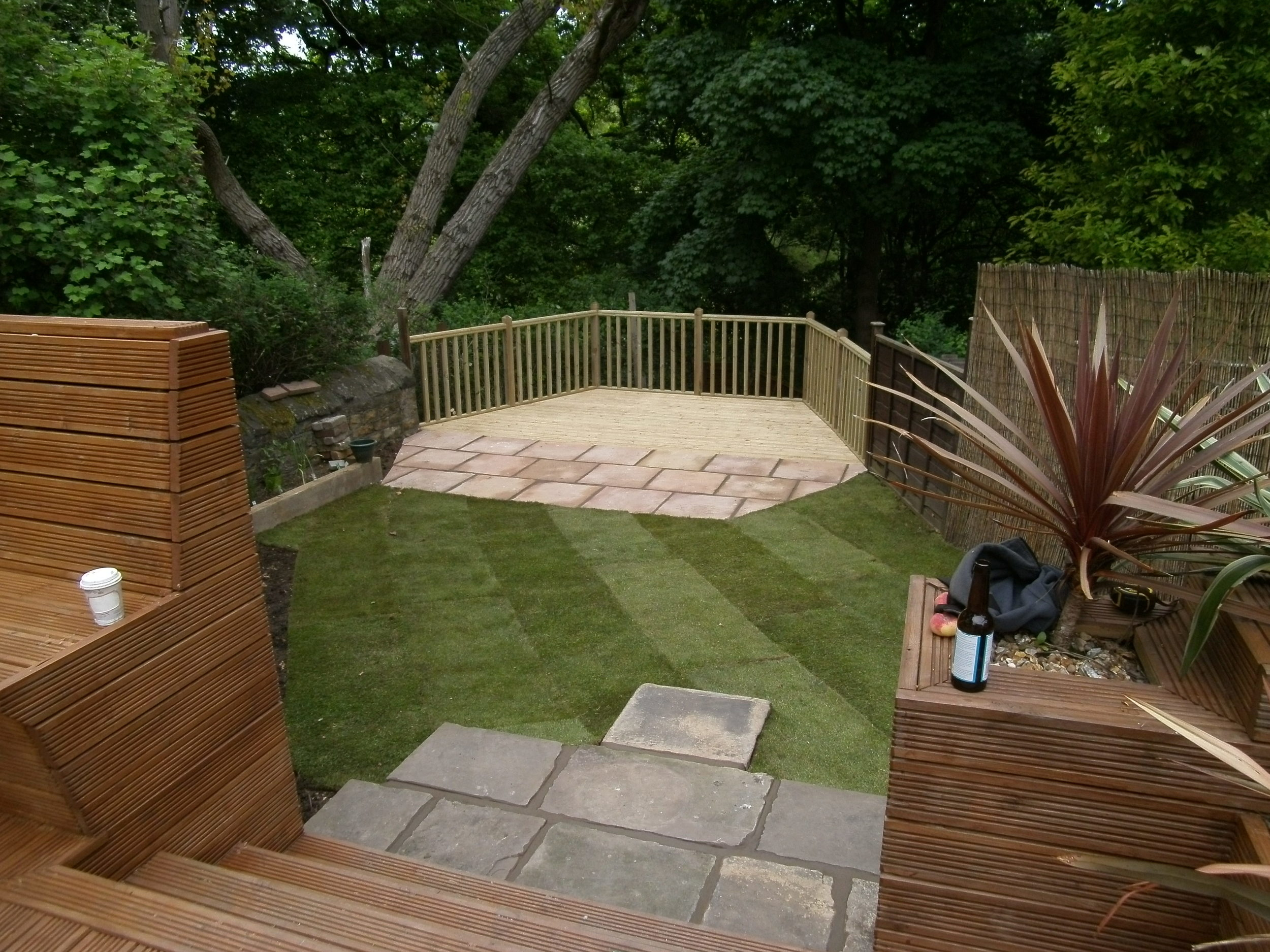 Paving, Decking and Turfing