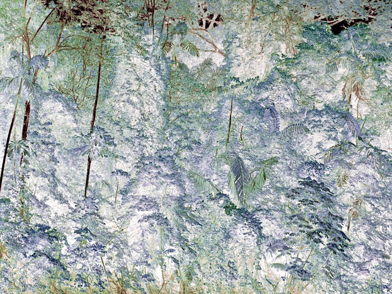 """Tiputini River, Full Forest   30"""" x 40"""", 2009"""