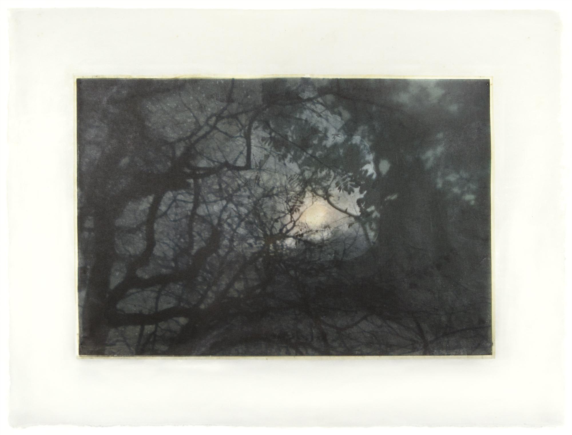 """Moon Walk II, 18"""" x 24"""", 2018"""