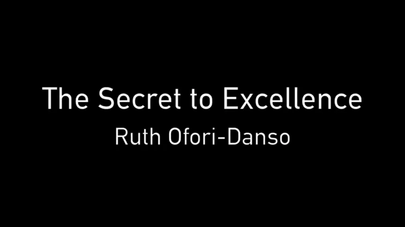 Vision Building/The Secret to Excellence - 17/01/17