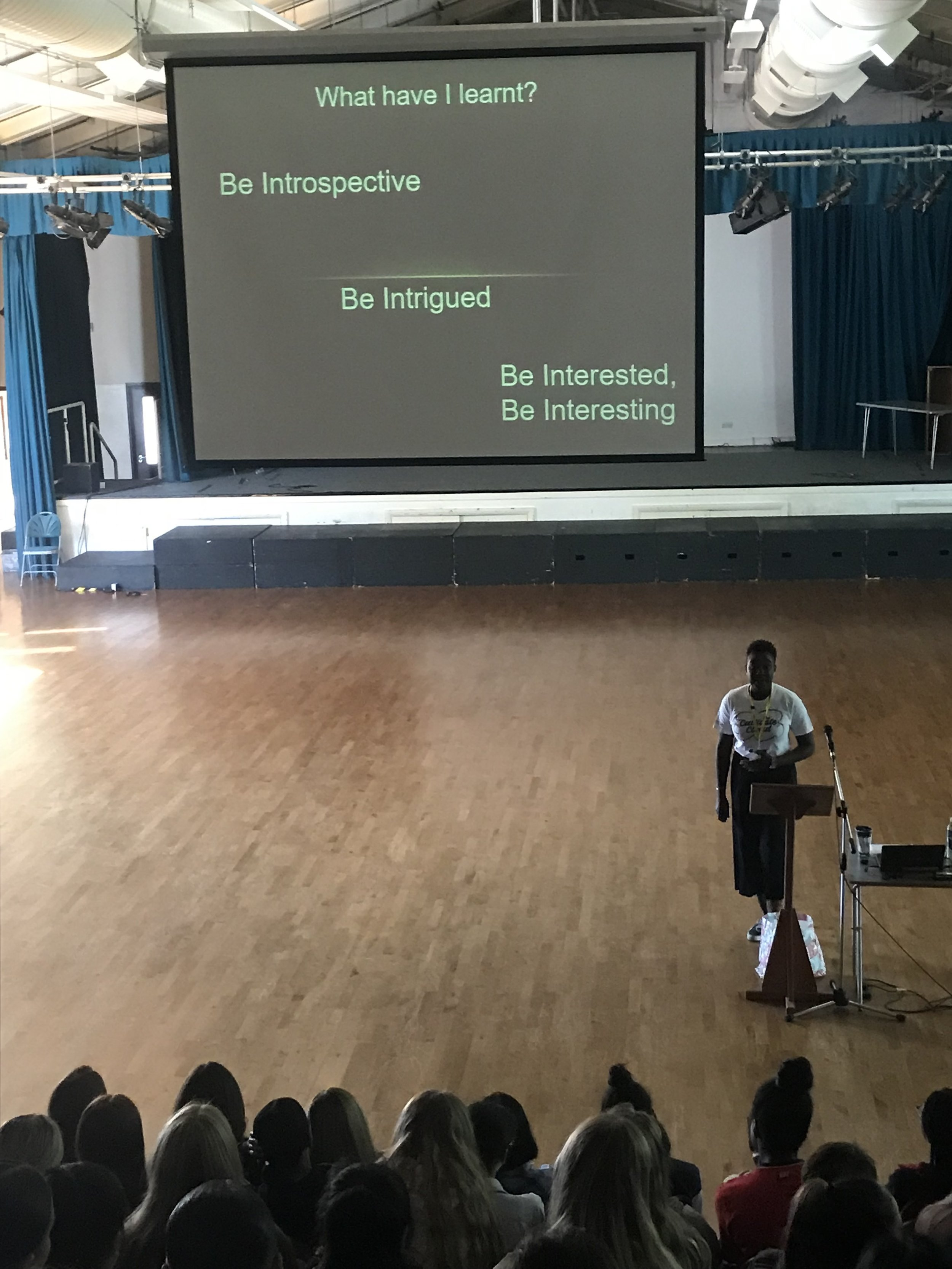 School Talk - 16/07/19