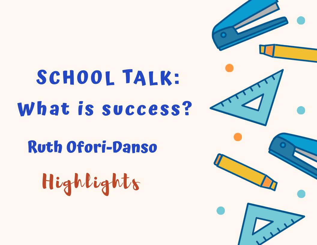 School Talk - 03/07/19
