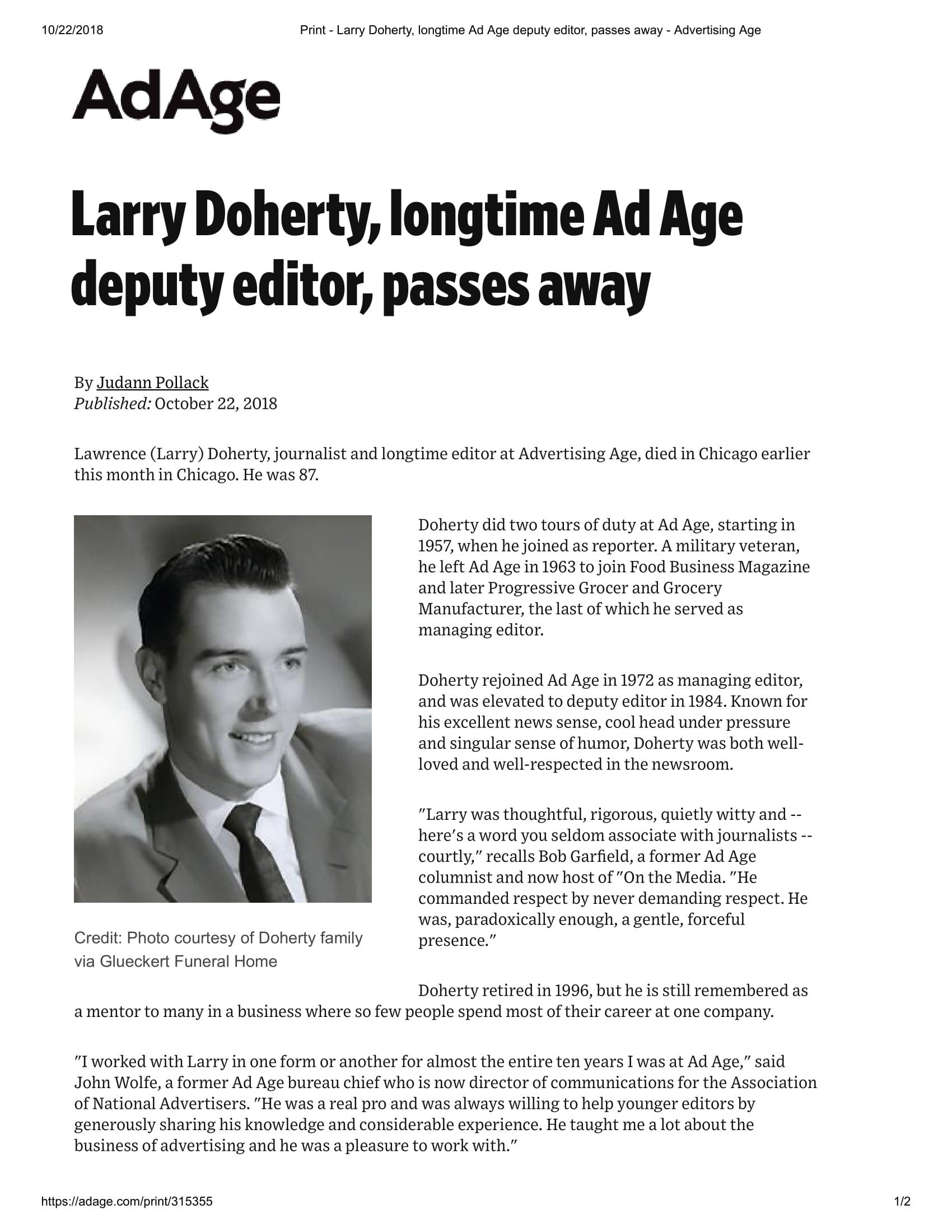 Print - Larry Doherty, longtime Ad Age deputy editor, passes away - Advertising Age-1.jpg
