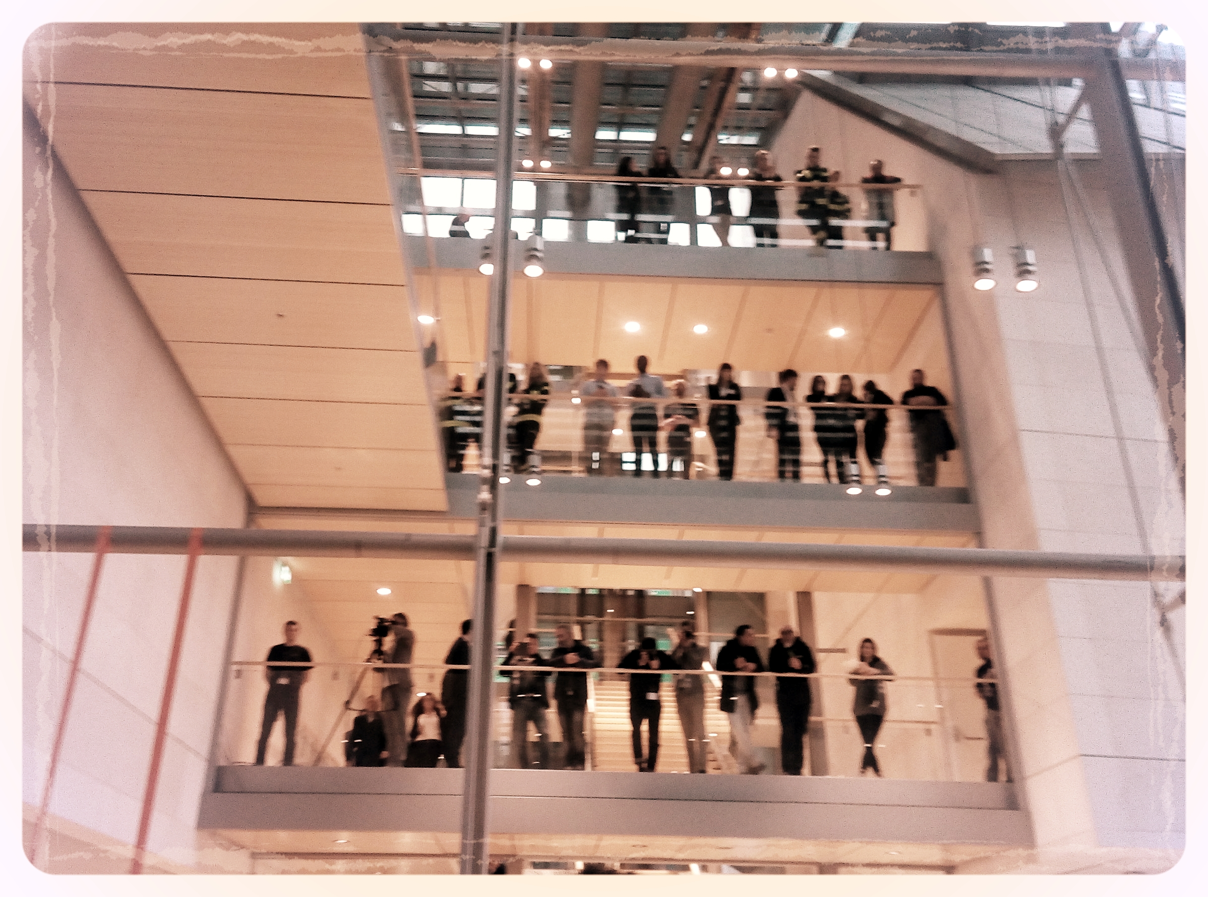 Il momento dell'inaugurazione . Crediti: G. Ascione