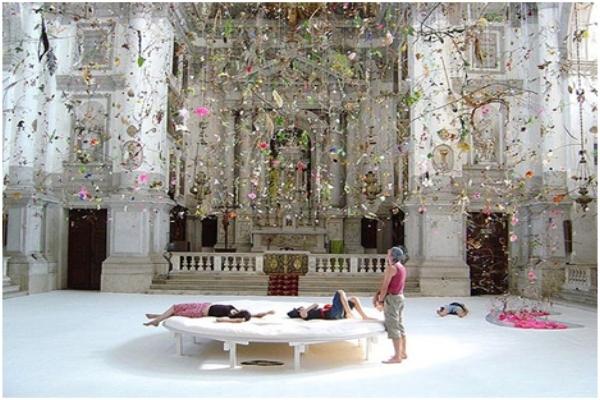 falling garden- 50° biennale di venezia . crediti: Gerda Steiner and Jorg Lenzlinger.
