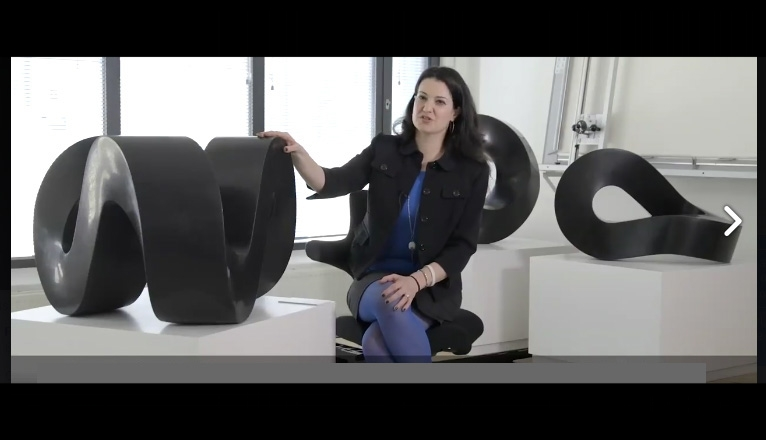 FRancesca BacCI  speaks onsculpture and touch in avideo-interview for the Oslo National Museum.