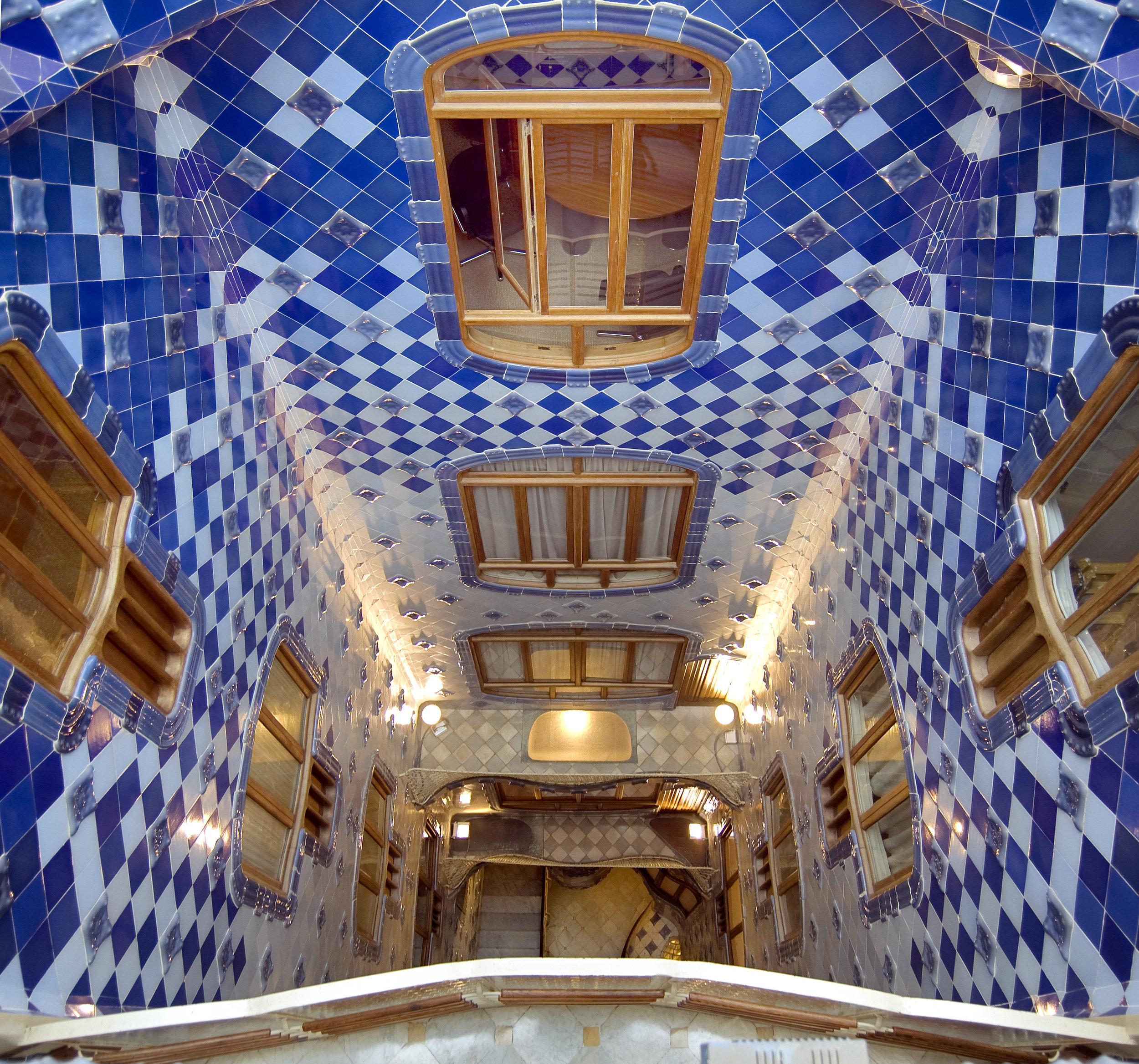Casa Battlò -interno. Immagine di Nicola De Pisapia