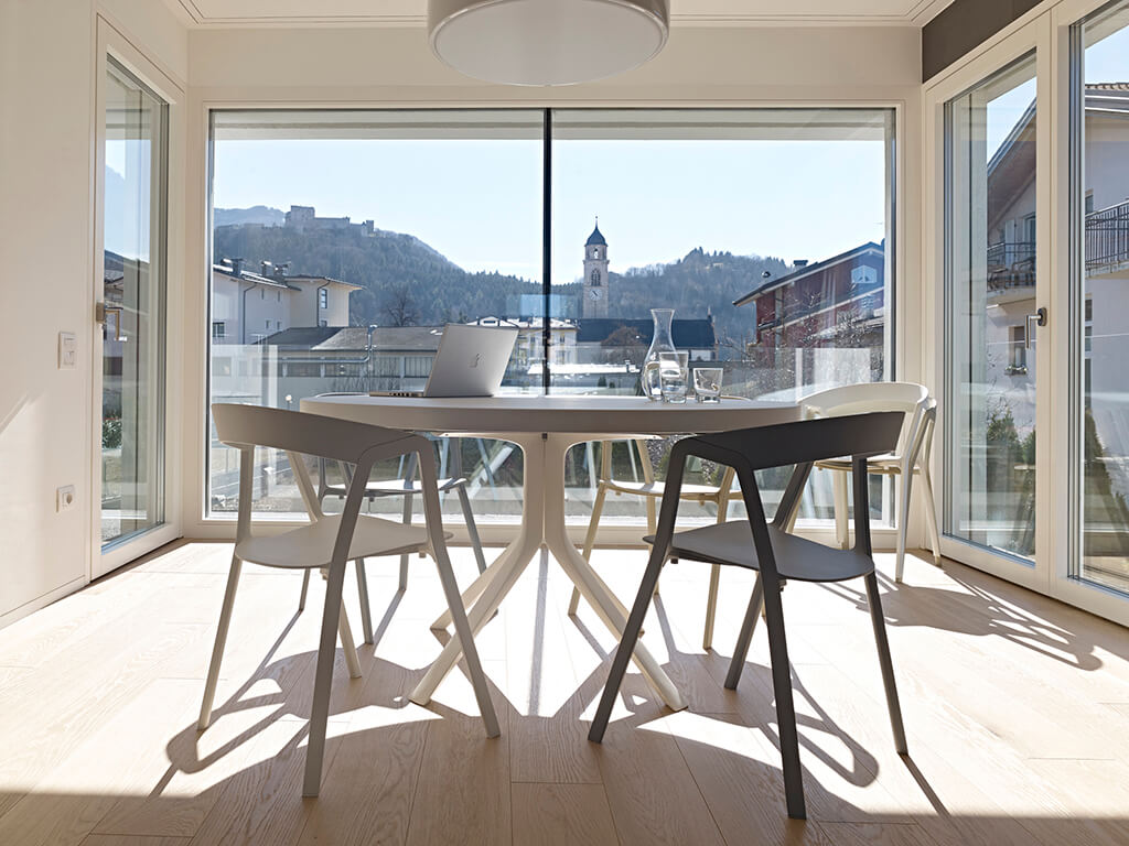 Dining Area with the view.