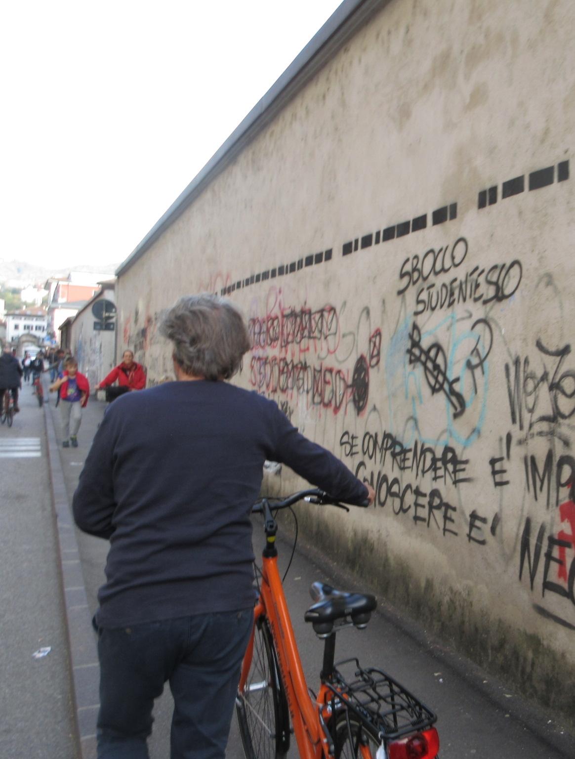 Itinerario di Trento:asse Albere-trePortoni (img sandro aita)