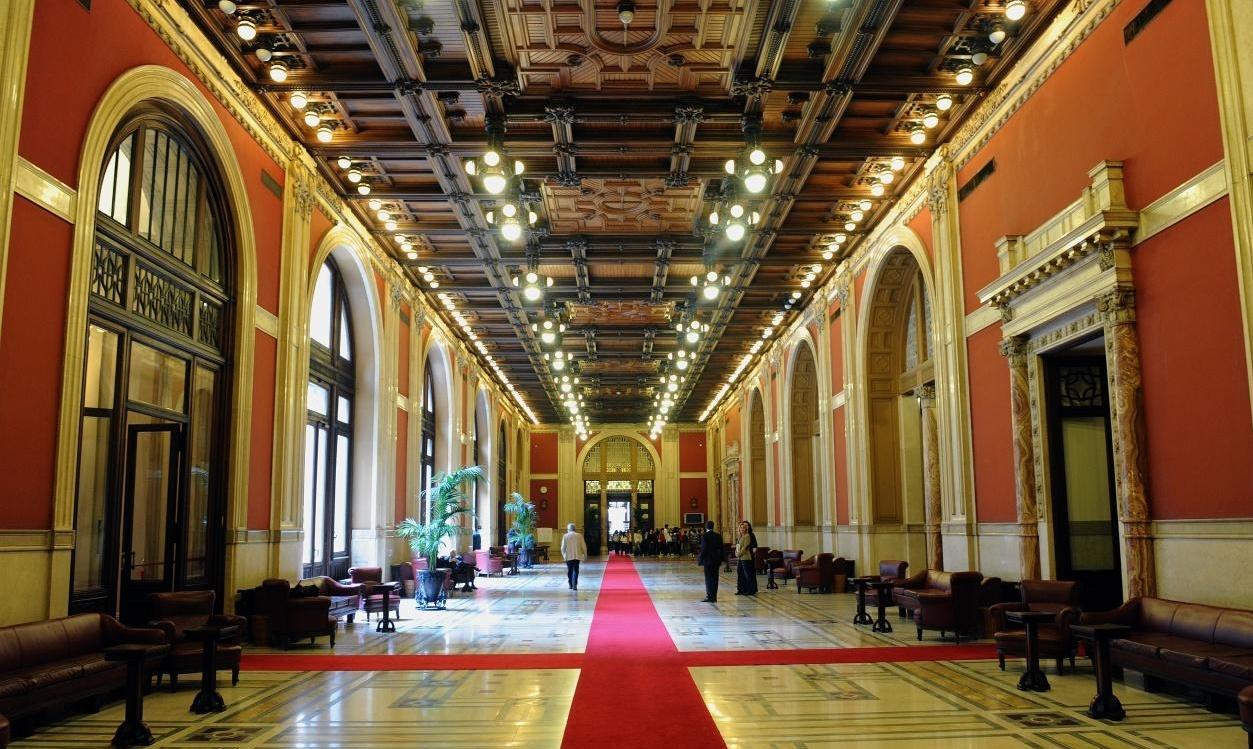 """Il """"Transatlantico"""" in palazzo Montecitorio"""