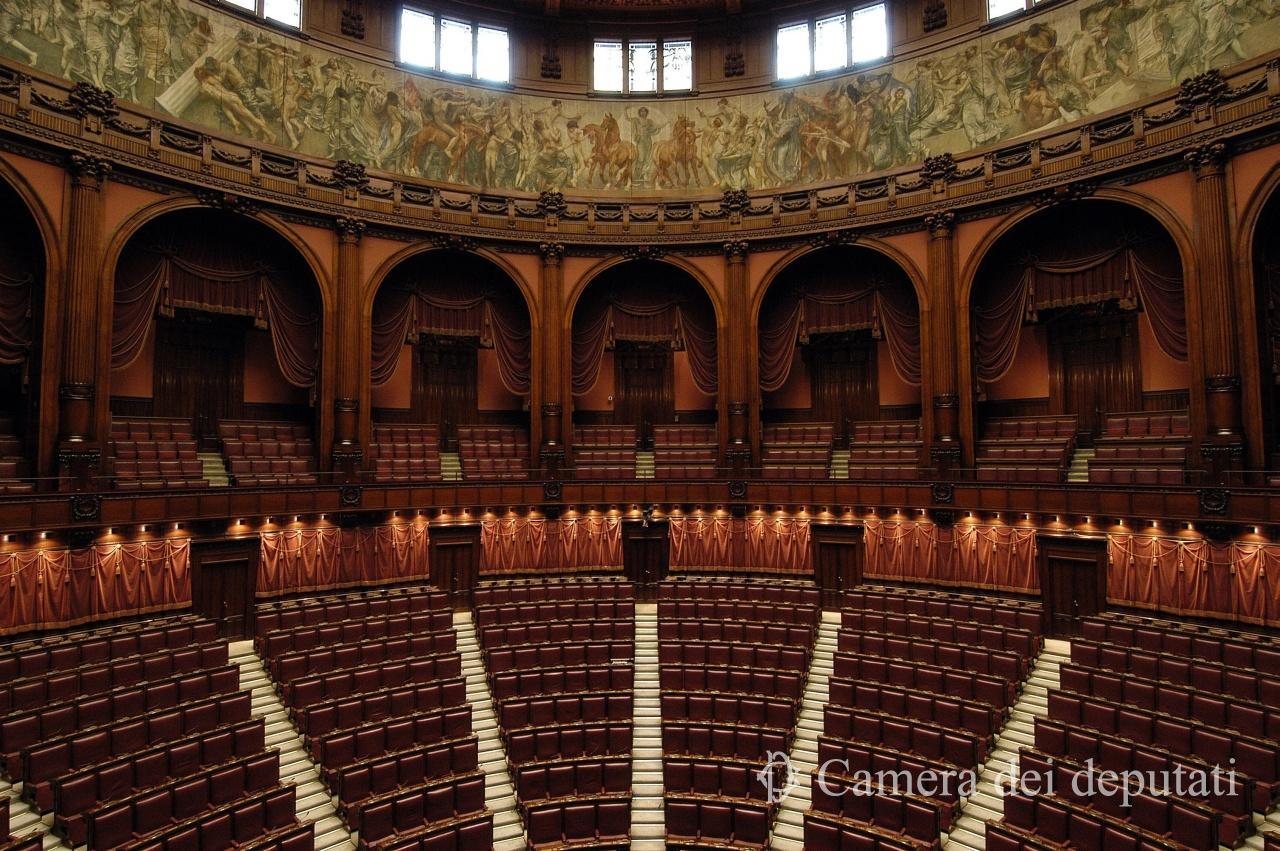 Montecitorio : Aula Emiciclo