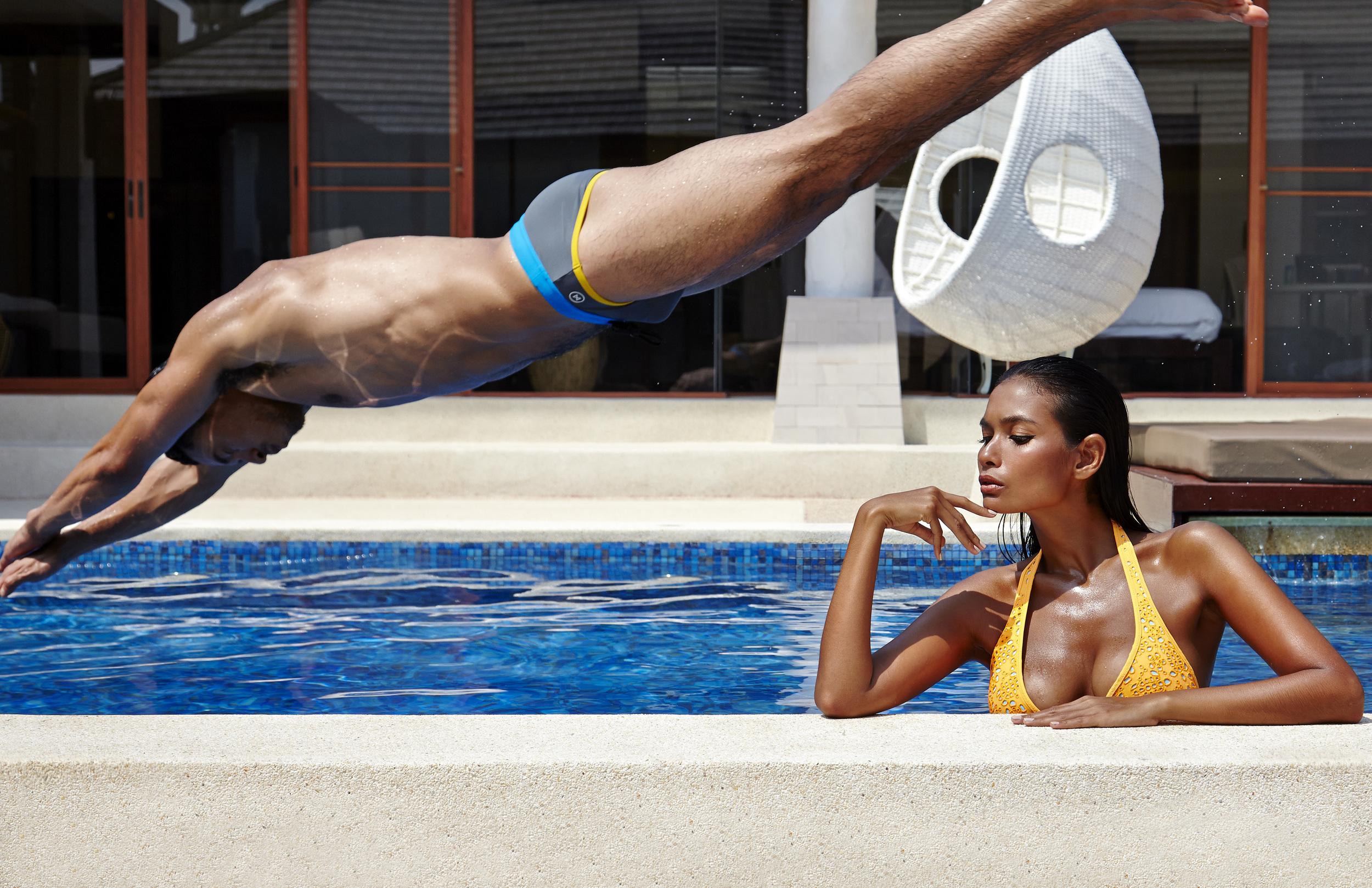 Female : bikini : Vilebrequin  Male : swimwear : NOXX