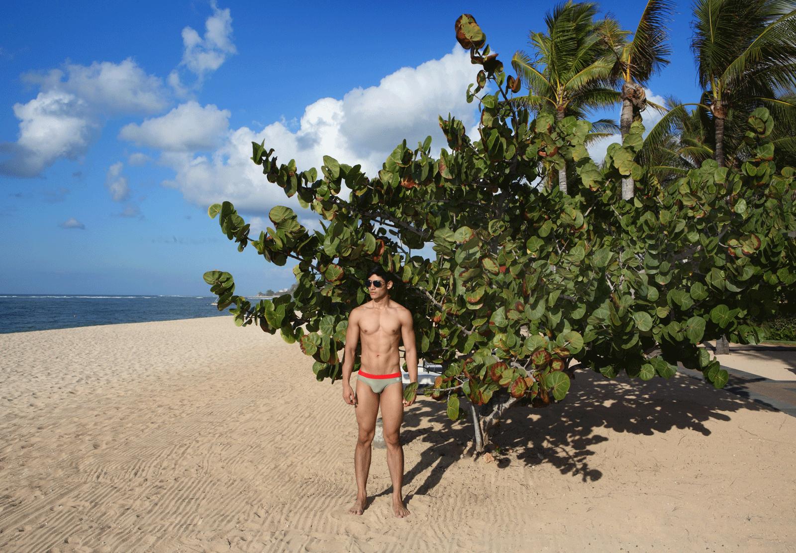 swimwear : NOXX / watch : Calvin Klein minimal