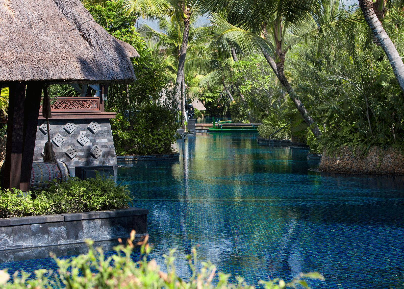 Salt water lagoon