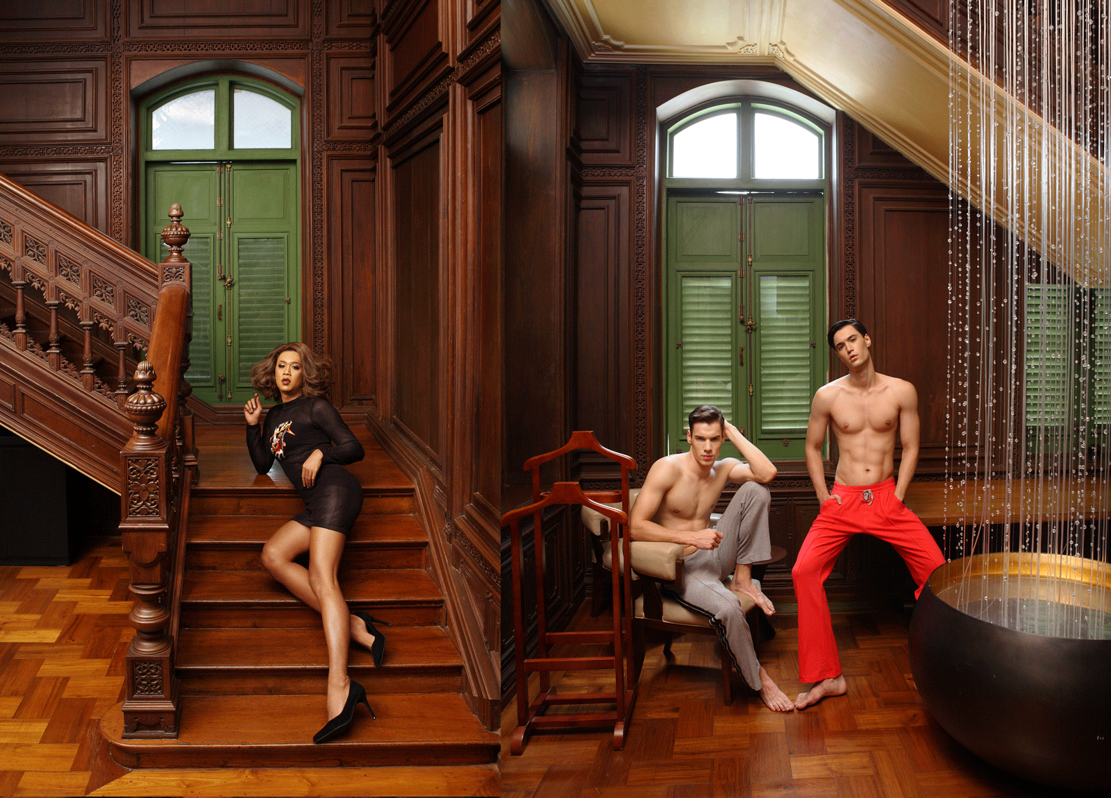 Jennie Panhan @jennie_panhan /Nikita, Ivan @cliomodel