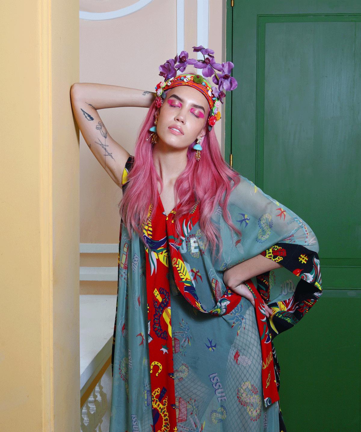 Kassandra Brain @kassybrain in ISSUE / accessories by 77th