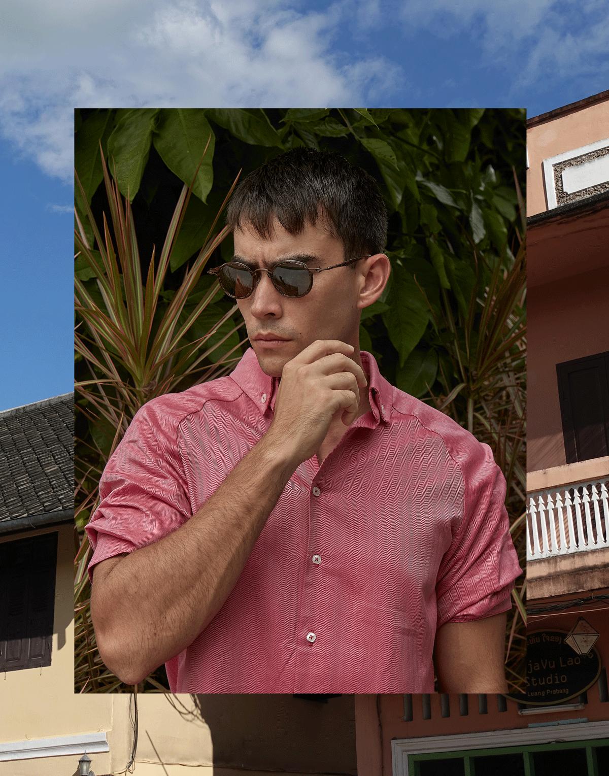 shirt : SARIT / sunglasses : Tavat eyewear