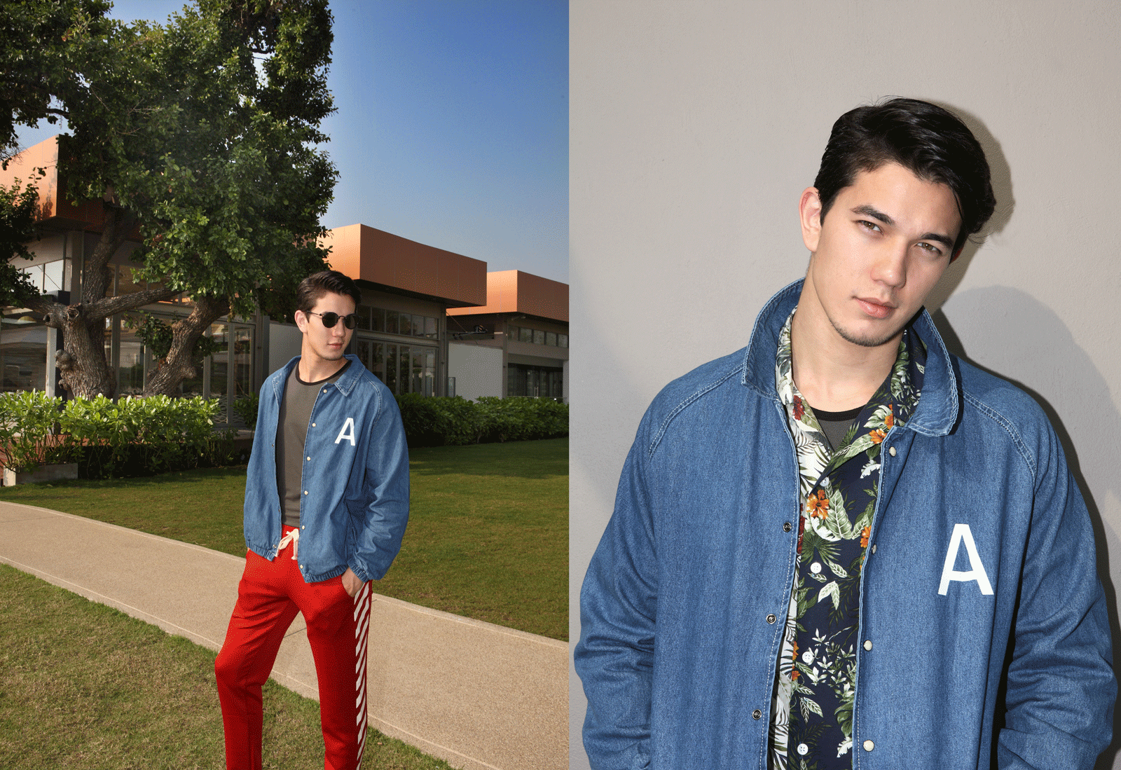 shirt : Leisure Projects / jacket and pants : CV_homme / tank top : NOXX / sunglasses : TAVAT