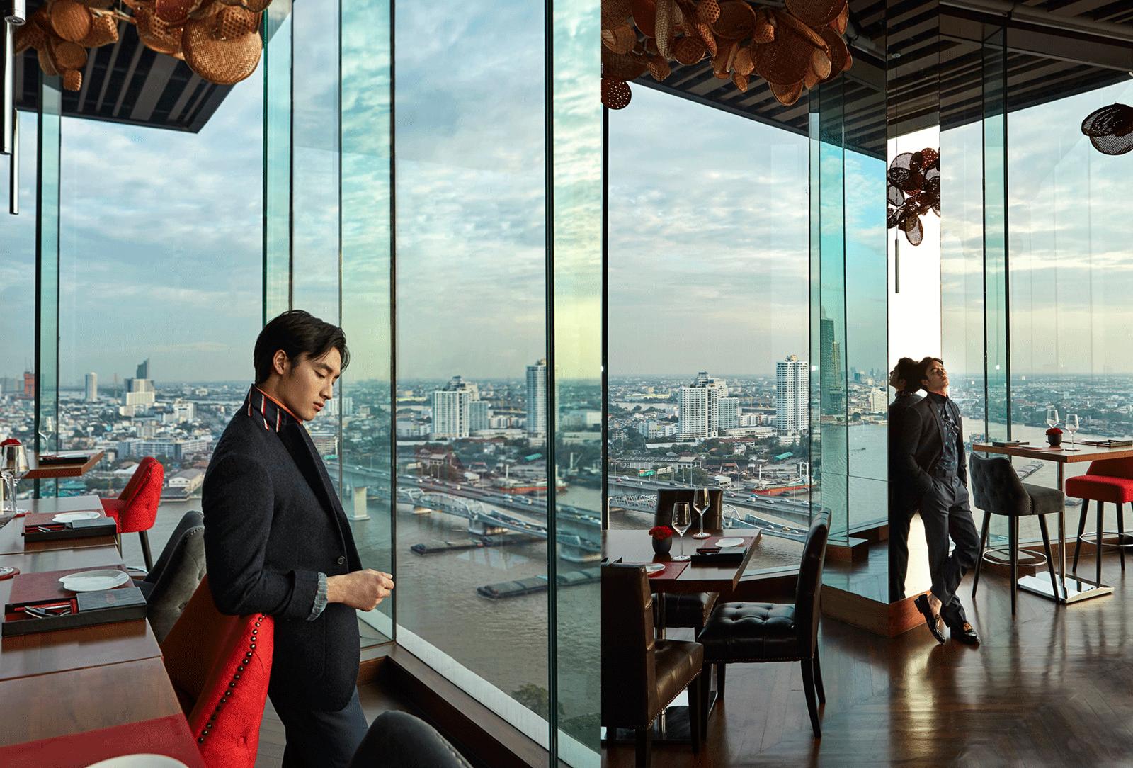 Avani Riverside Bangkok Hotel  Photo: Republicstudio_th  Model : Ratthapoom Khainark @peck_ratthapoom  Make Up and Hair : Chin Chintasurasa @gin_chintasurasa  Clothes : Singha Life @ singhalifethailand  Shoes : Christian Louboutin  Location : Avani Riverside Bangkok Hotel  257 Charoennakorn Road, Thon Buri, Bangkok 10600   Phone :02 431 9100   www.minorhotels.com/en/avani/riverside-bangkok
