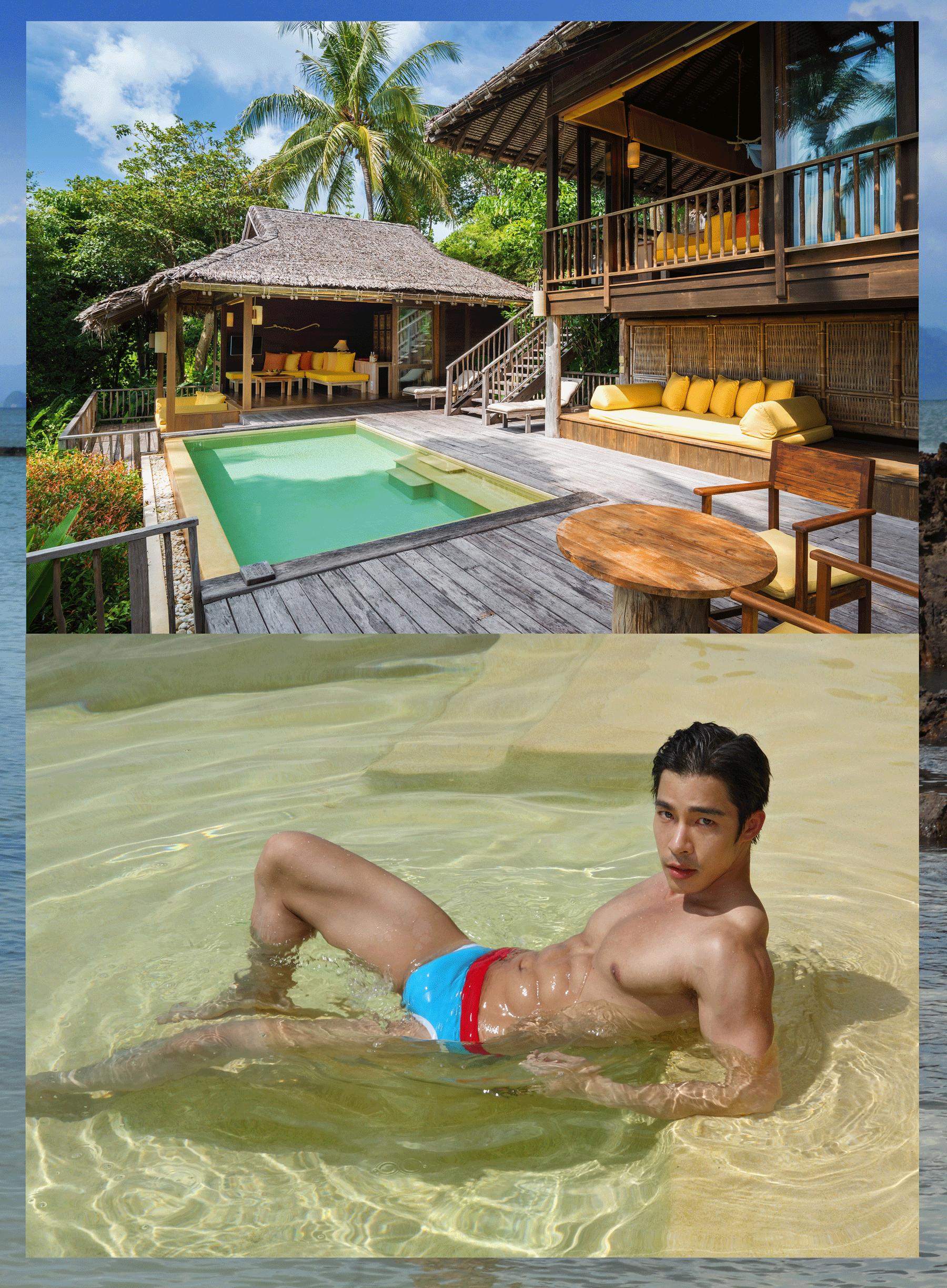 Six Senses Yao Noi Resort  Photo : Virapoj Tu Asavajarn  Model : Nat Sakdatorn @natsakdatorn  Swimwear : NOXX wear @noxxwear  Location : Six Senses Yao Noi Resort  56 Moo 5 Tambol Koh Yao Noi Amphur Koh Yao Phang Nga 82160 Thailand T +66 7641 8500 http://www.sixsenses.com  Special Thanks : Bangkok Airways