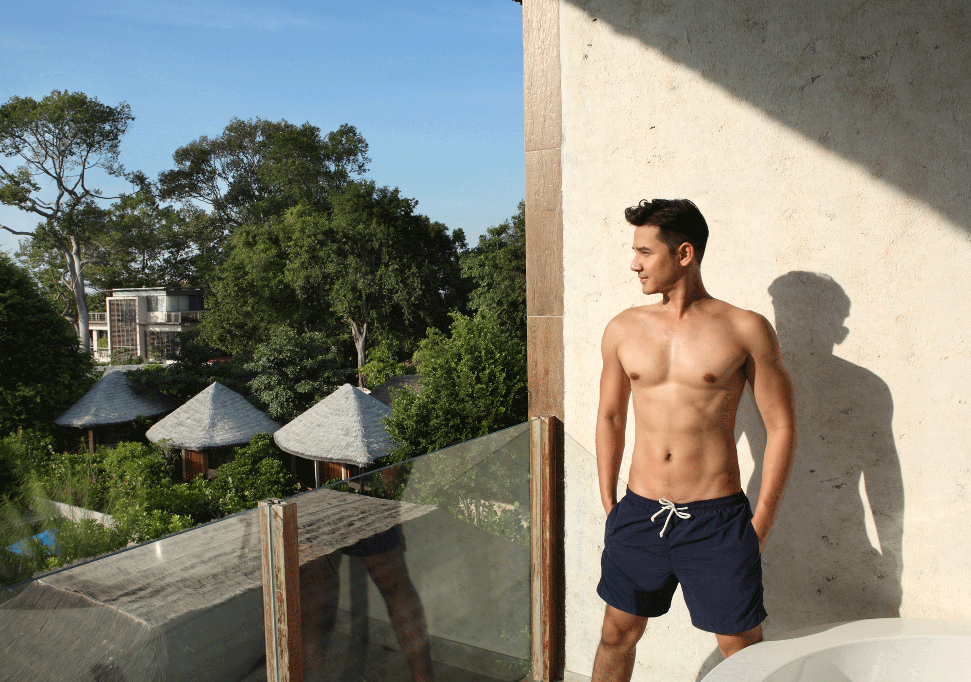 U PATTAYA  Photo : Tu Virapoj Asavajarn  Model : Ron Patarapon Too-Un @ron_patarapon  Location : U Pattaya  70/14, Ko Phai 12 Na Chom Thian 56 Alley, Bang Saray, Chang Wat, Chon Buri 20250, Thailand  Phone:+66 33 046 100    www.uhotelsresorts.com/ upattaya