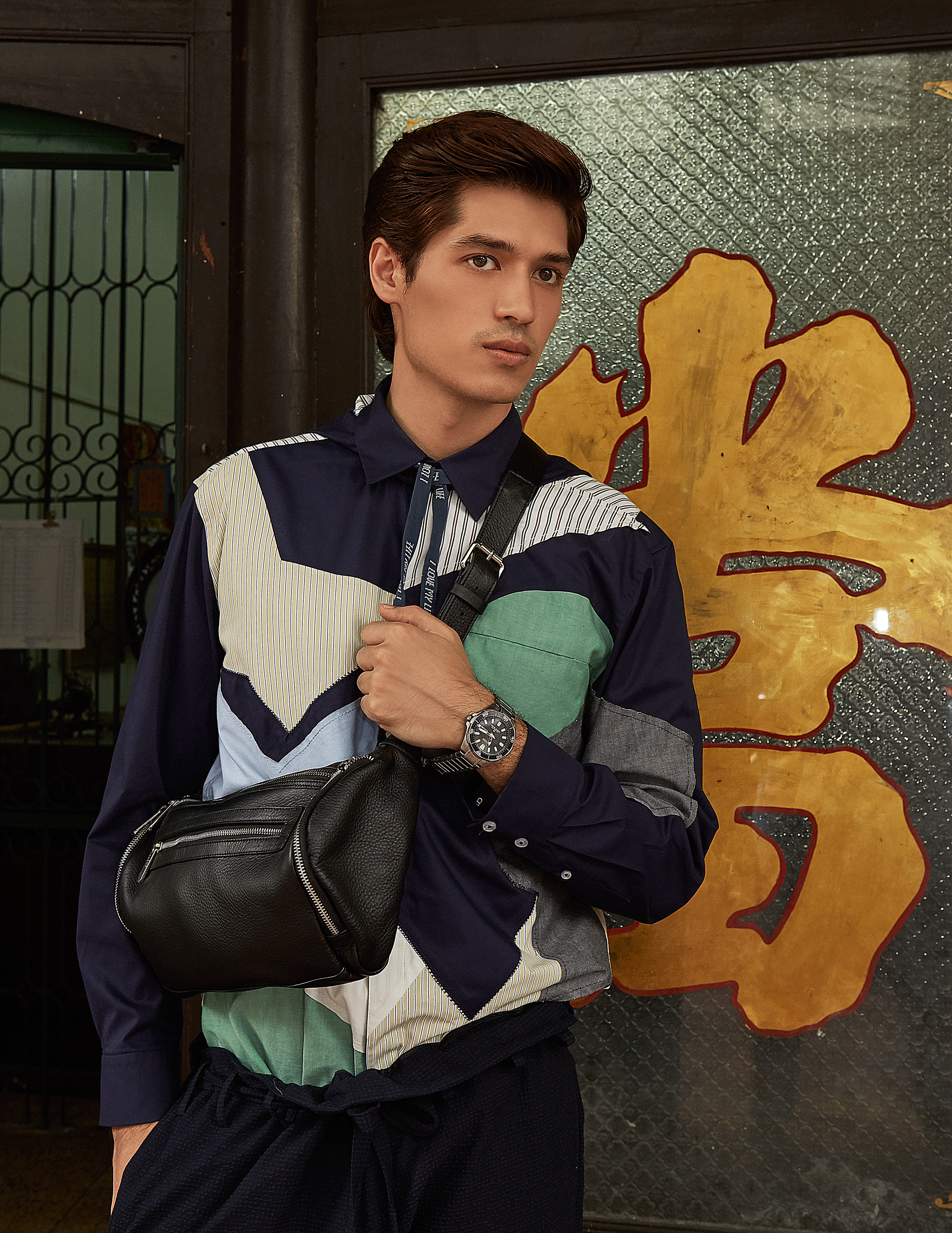 shirt : Everyday Karmakamet / shorts : Paul Smith / Bag : CONTAINER  watch :CITIZEN Promaster Super Titanium (NEW 2018 collection)