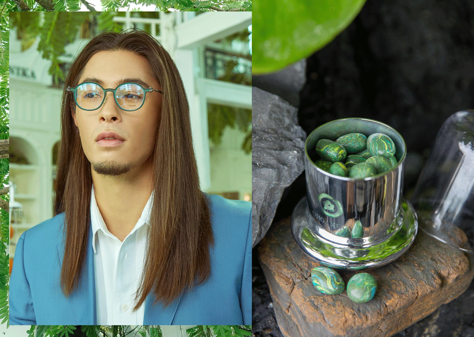 Felix : Clothes : CK Calvin Klein / eyeglasses : TAVAT - Organika Scent Stone