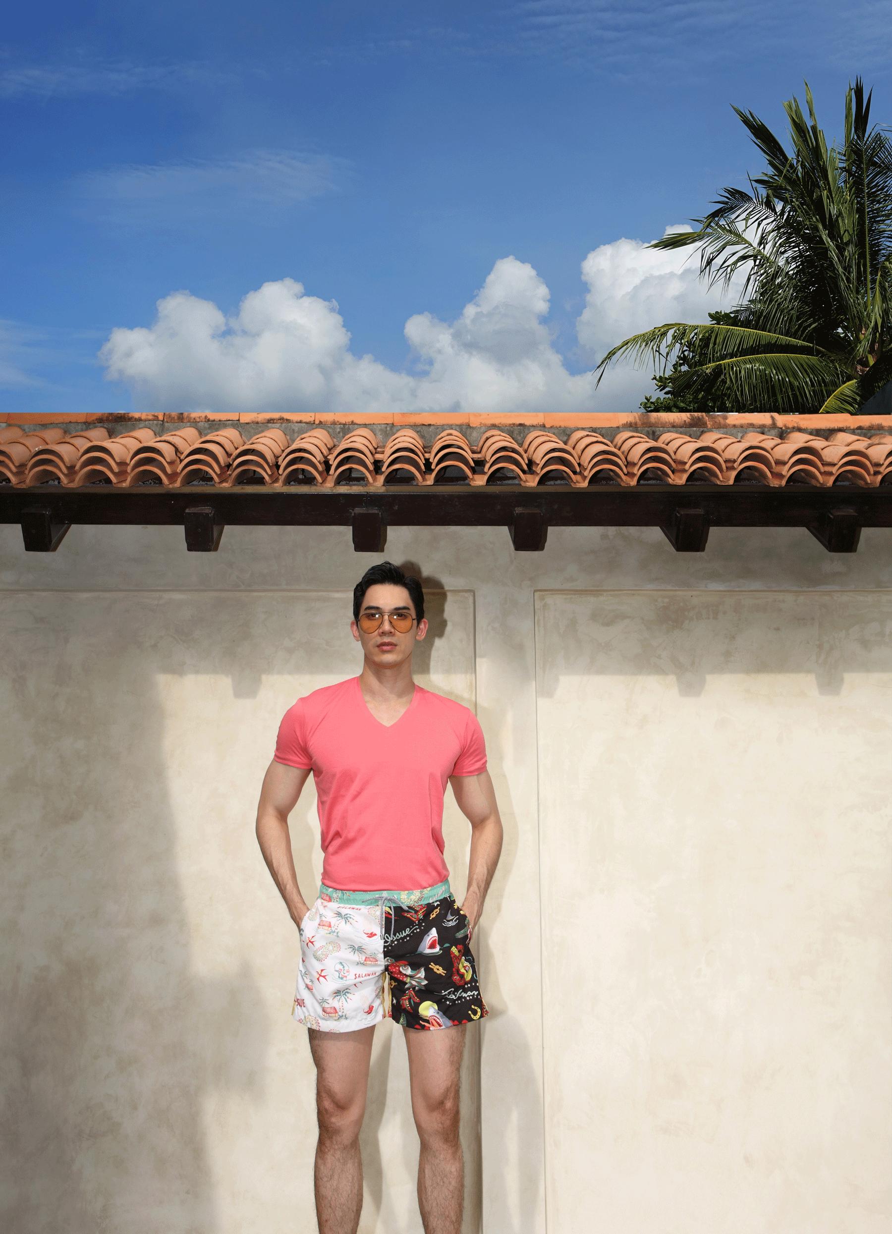 Tshirt : NOXX / shorts : SALAWAN