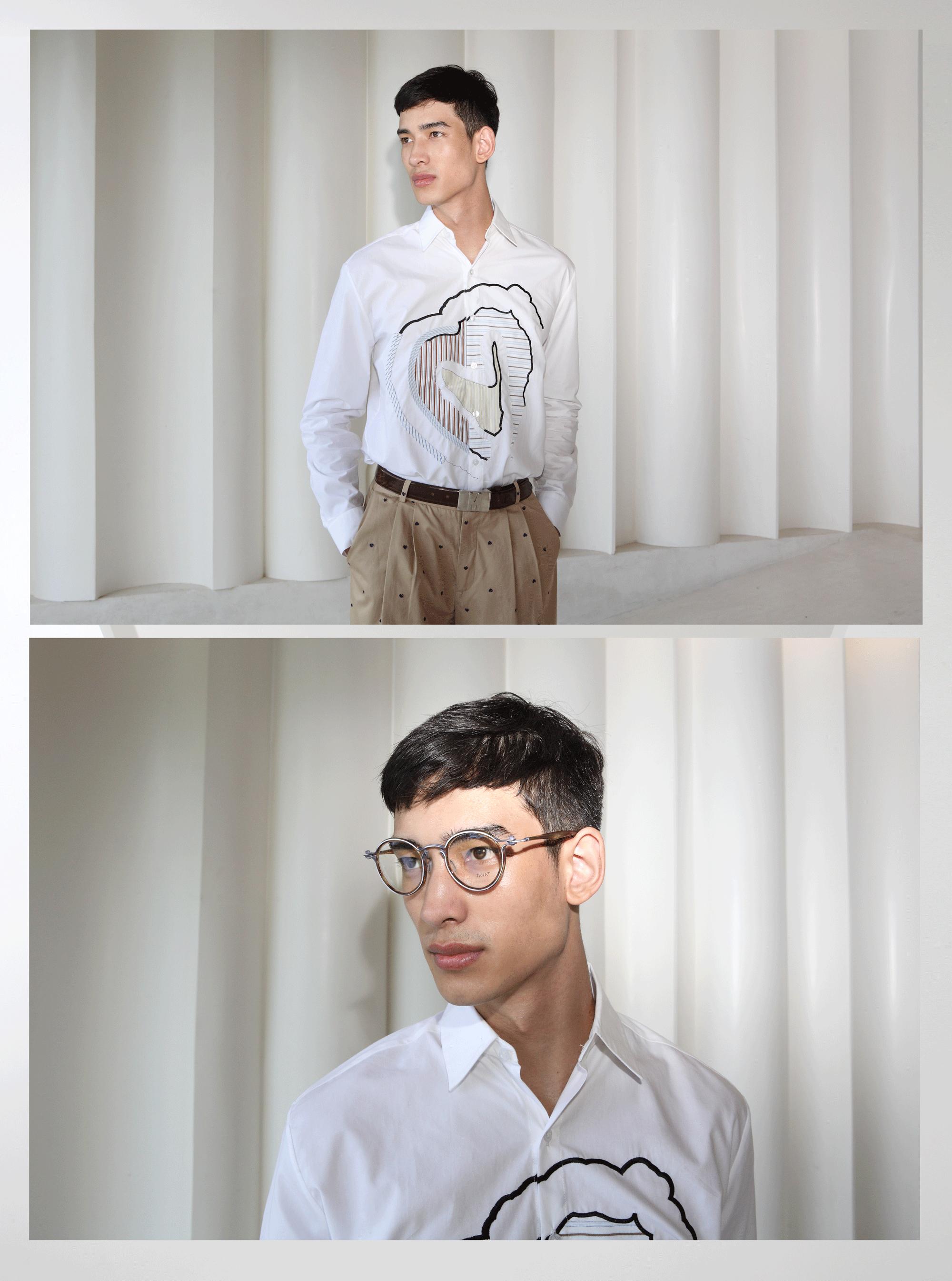 clothes : Everyday KarmaKamet / eyeglasses : TAVAT