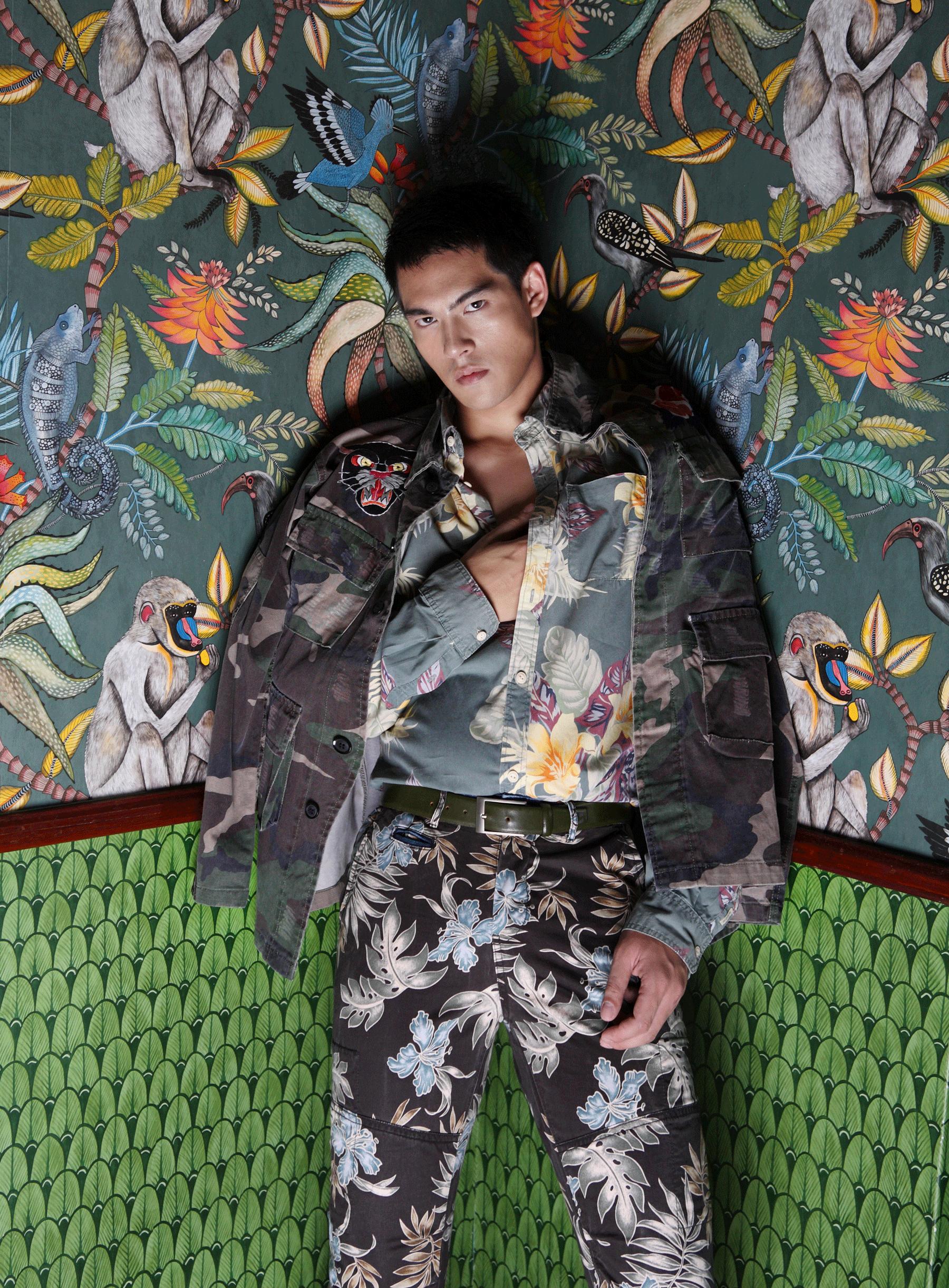 jacket : GINGER