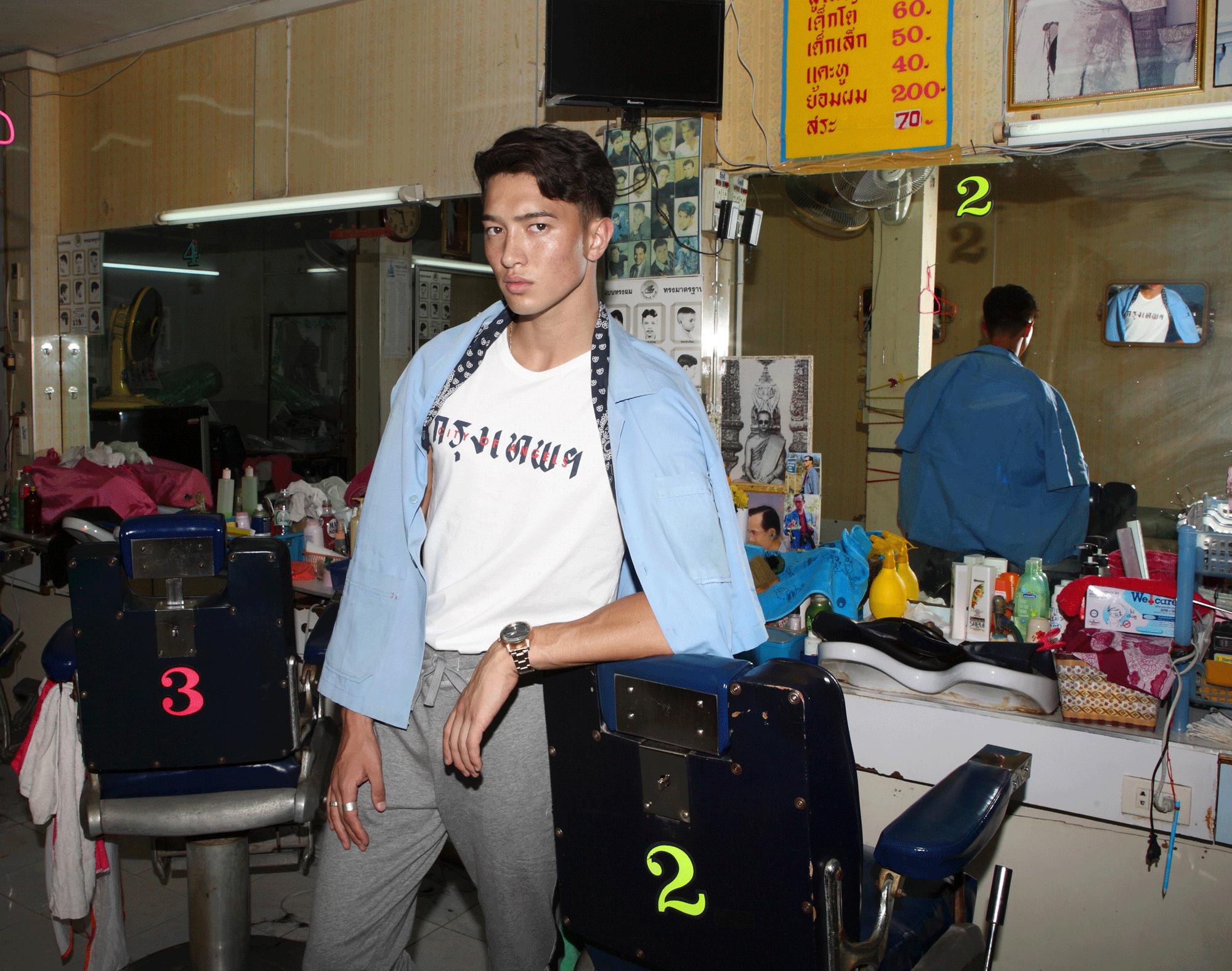 tshirt : PAINKILLER / pants : NOXX wear / watch : FORREST