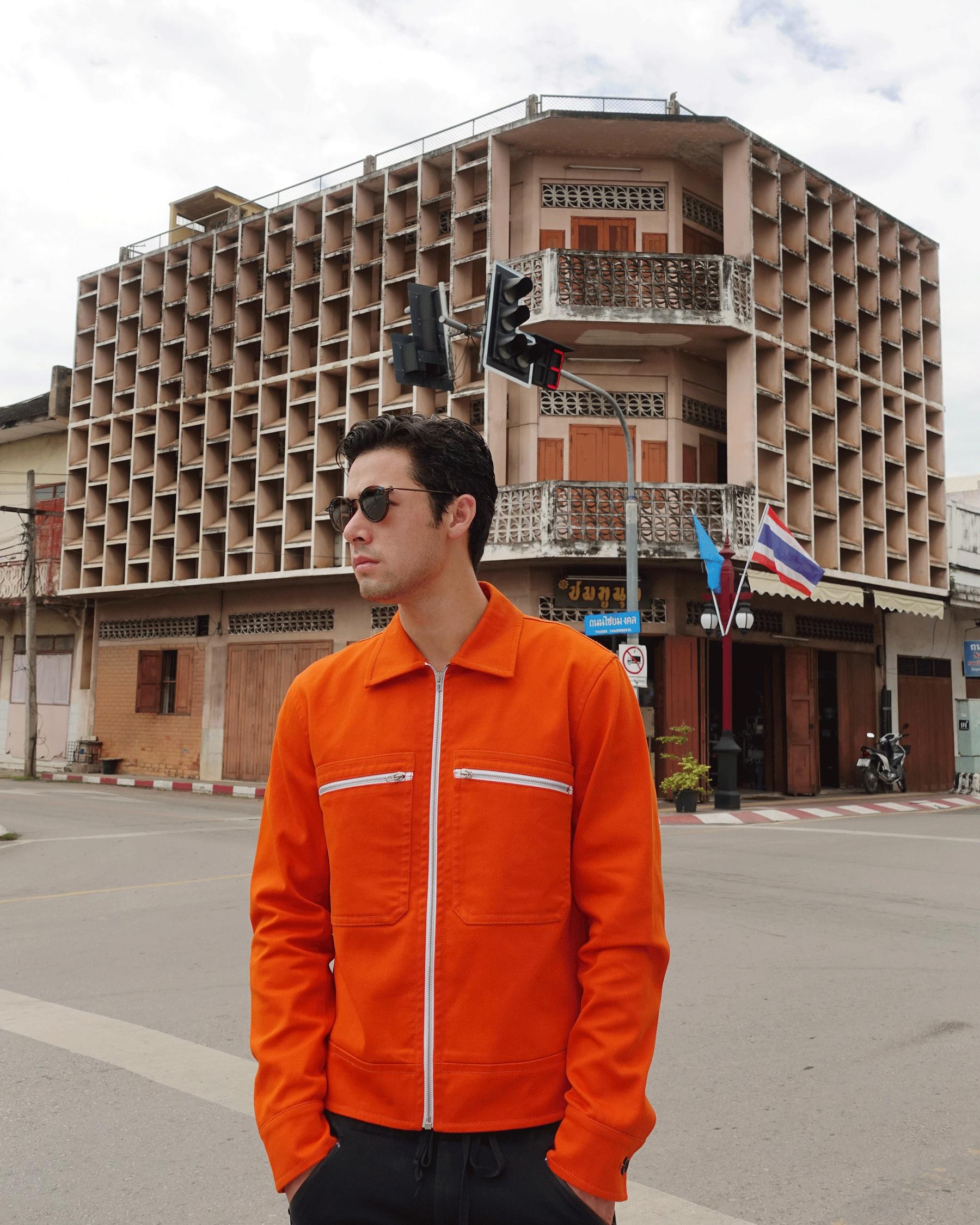 jacket : CK Calvin Klein / sunglasses : TAVAT