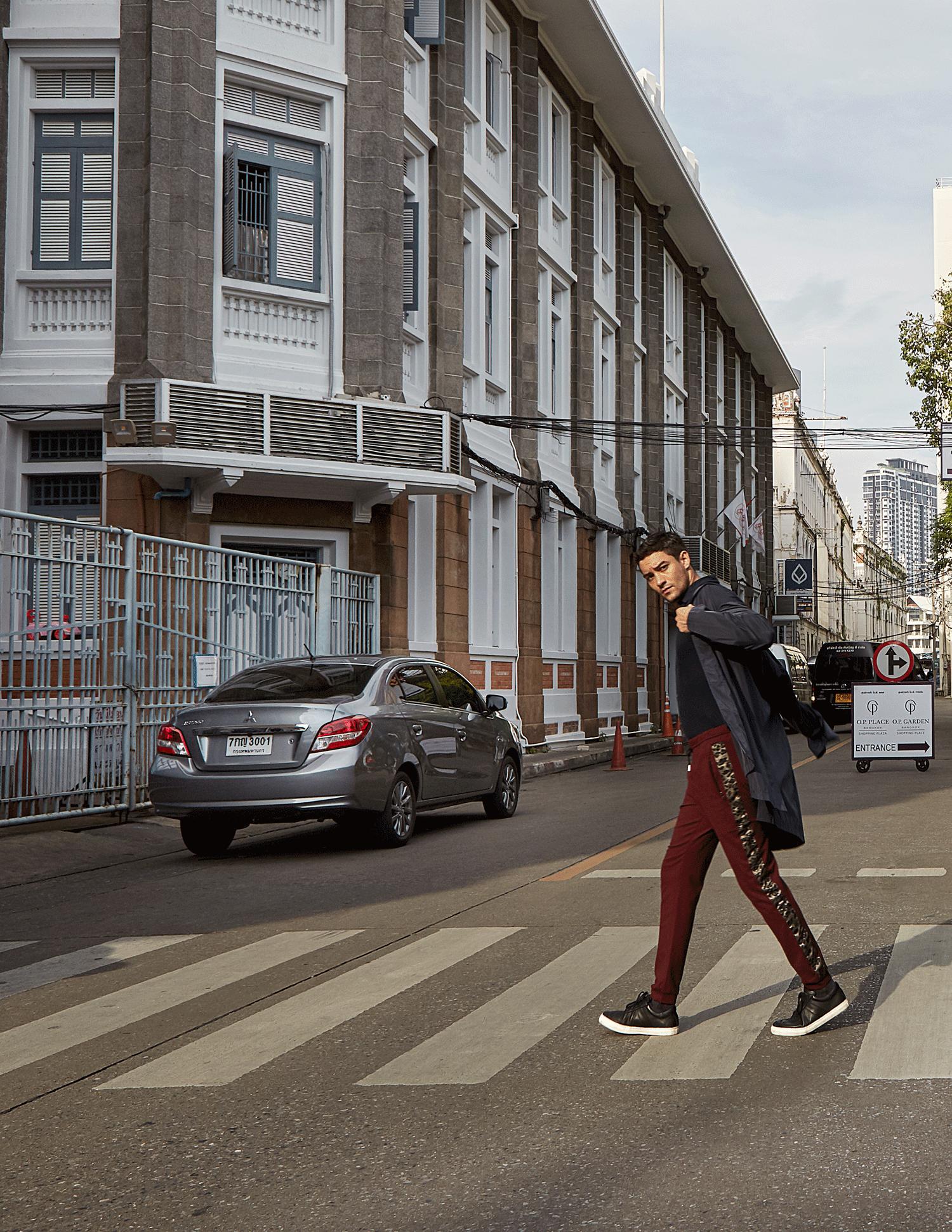 car : Mitsubishi NEW Attrage  shirt : Jil Sander / pants : Theatre / watch : FORREST