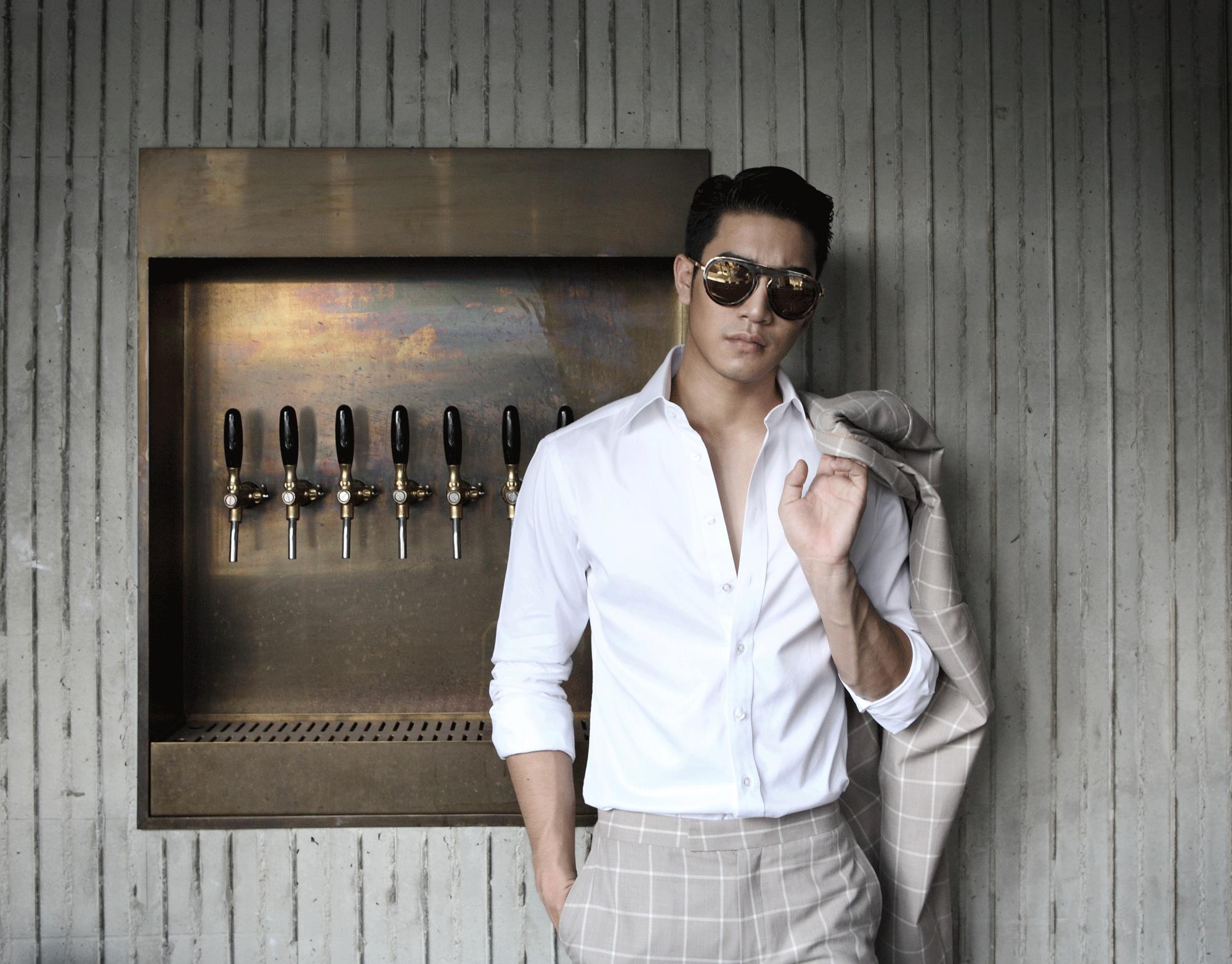 clothes : POEM Menswear / sunglasses : Blake Kuwahara