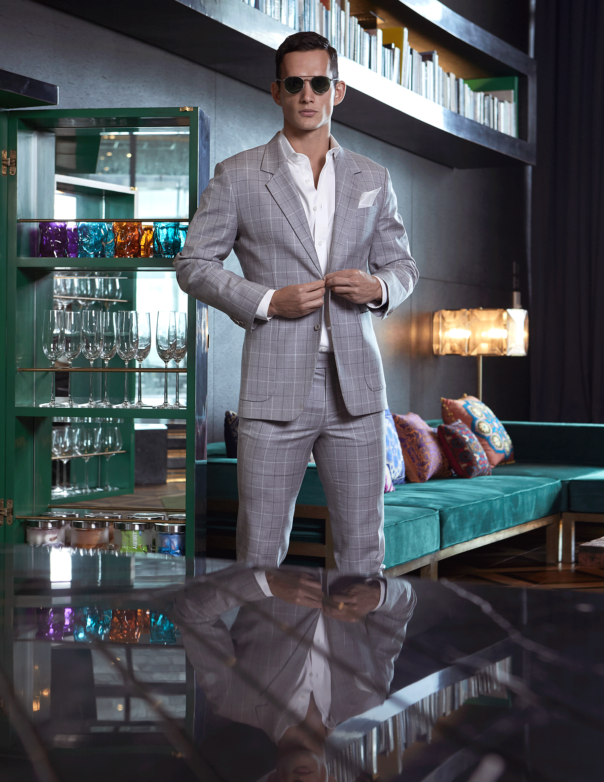 Mika - clothes : POEM Menswear / sunglasses : Boston Club