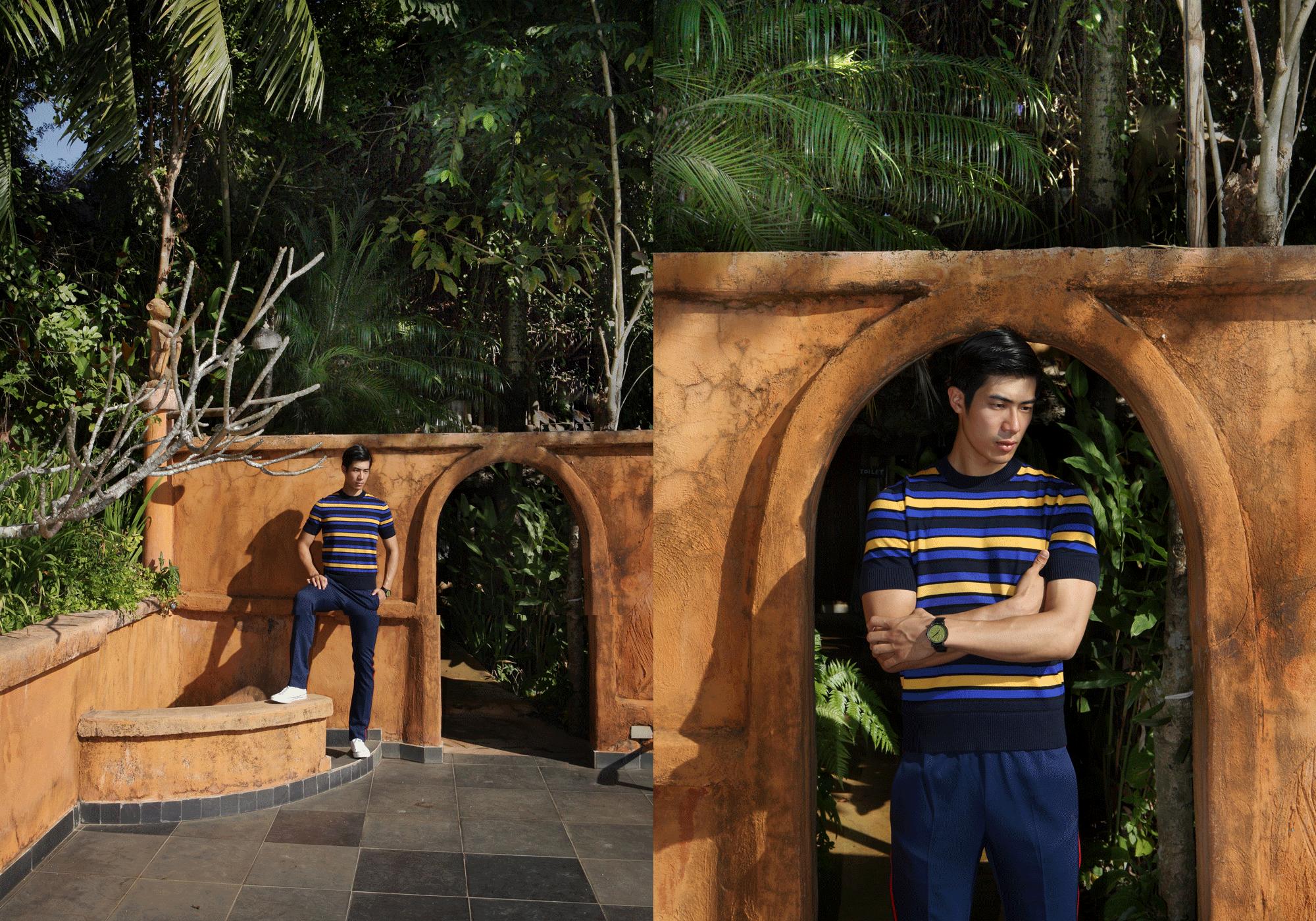 clothes : CK Calvin Klein / watch : FORREST