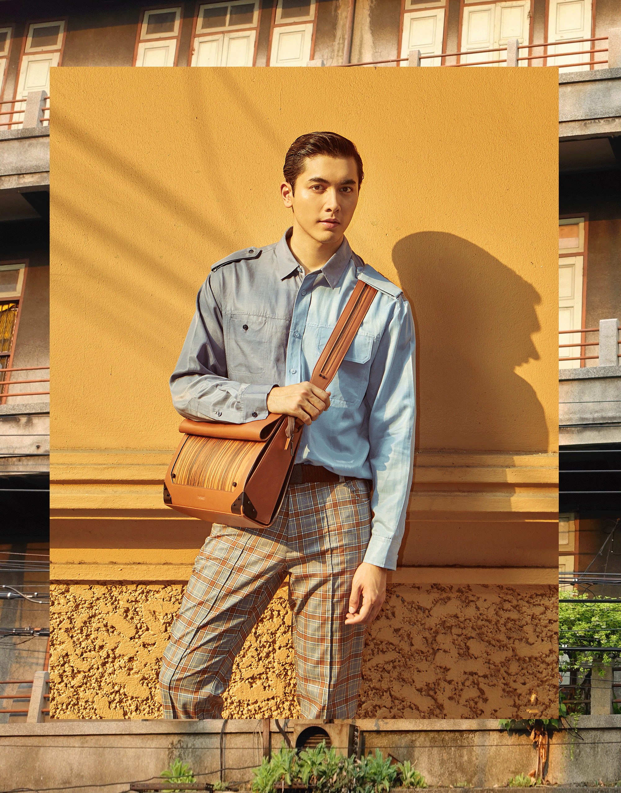 clothes : Everyday Karmakamet / bag : FORREST