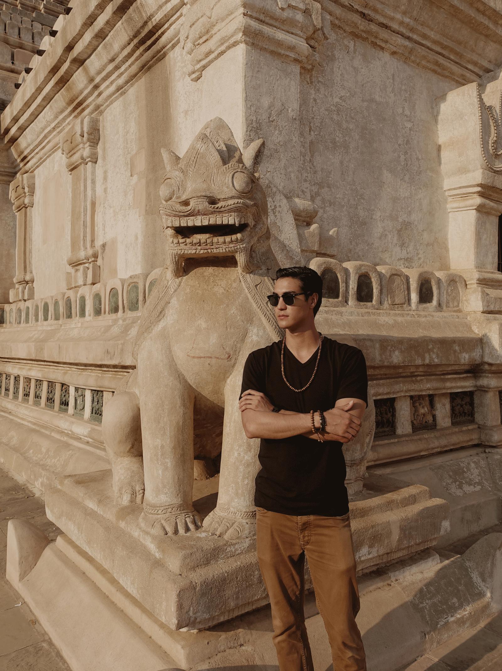Ananda Temple - Bagan  Tshirt : JOCKEY