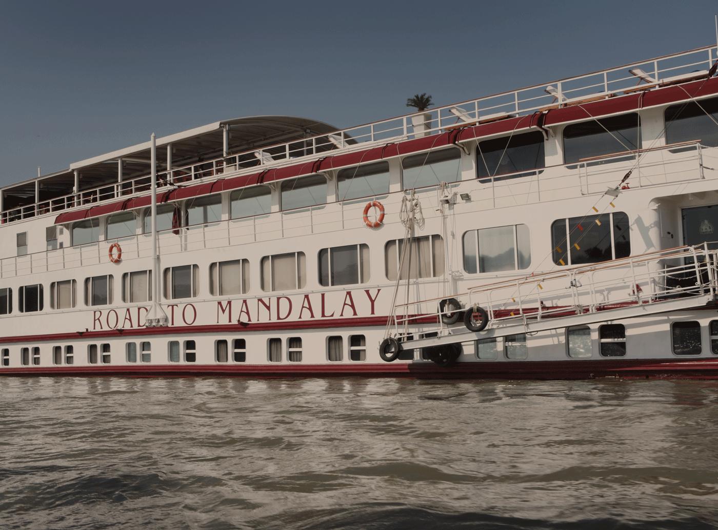 Belmond Road to Mandalay Ship