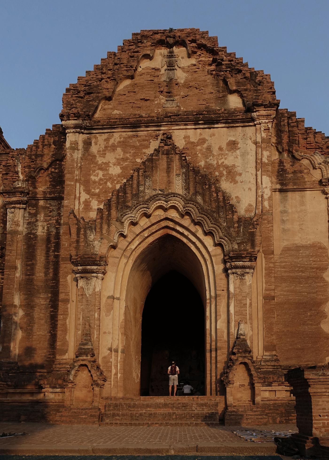 วิหารธรรมยันจี Dham Ma Tang Yi Temple - Bagan
