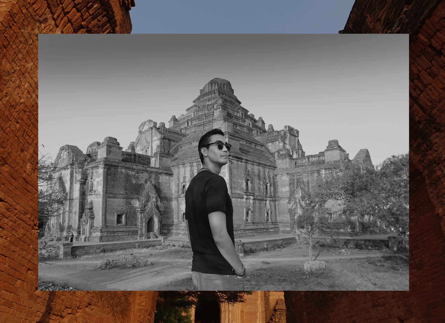 วิหารธรรมยันจี Dham Ma Tang Yi Temple - Bagan  Tshirt : JOCKEY