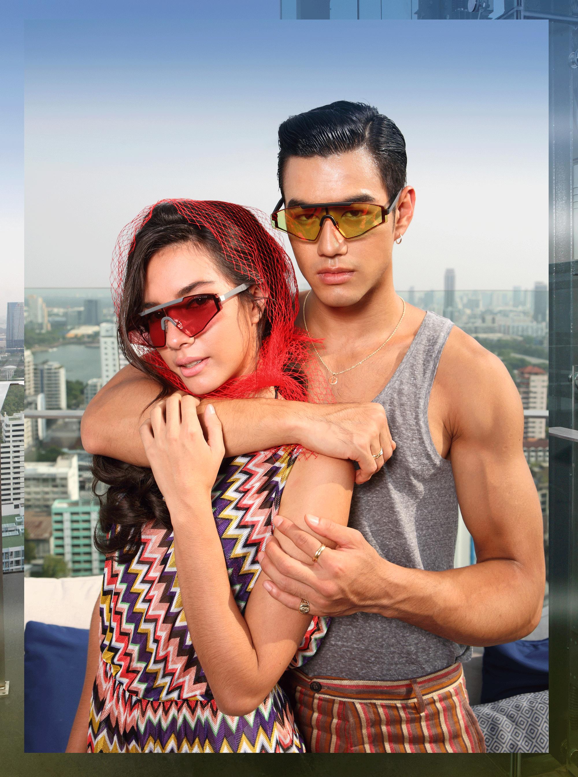 clothes : MISSONI / sunglasses : Spektre