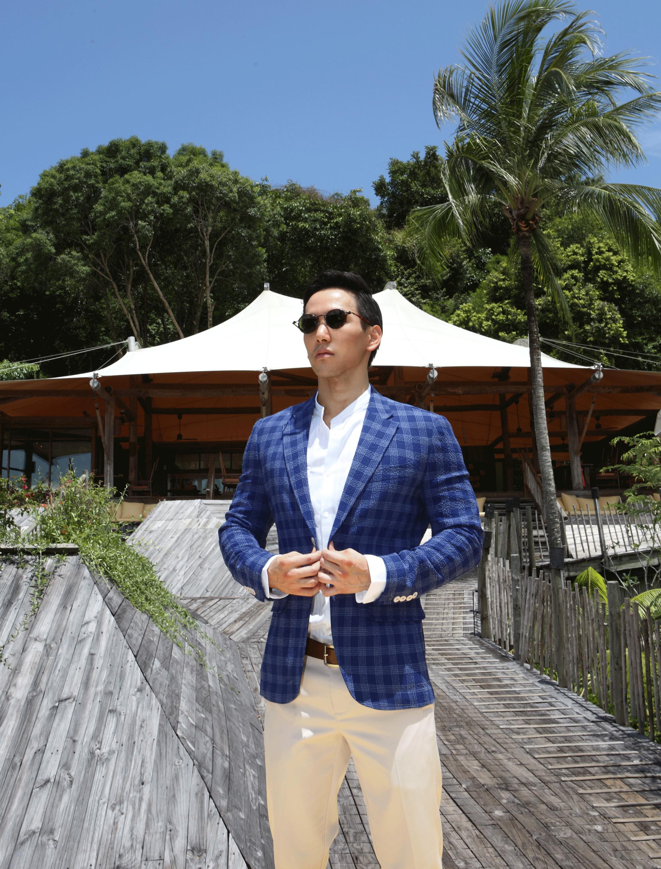 clothes : BLAACK by G2000 / sunglasses : TAVAT