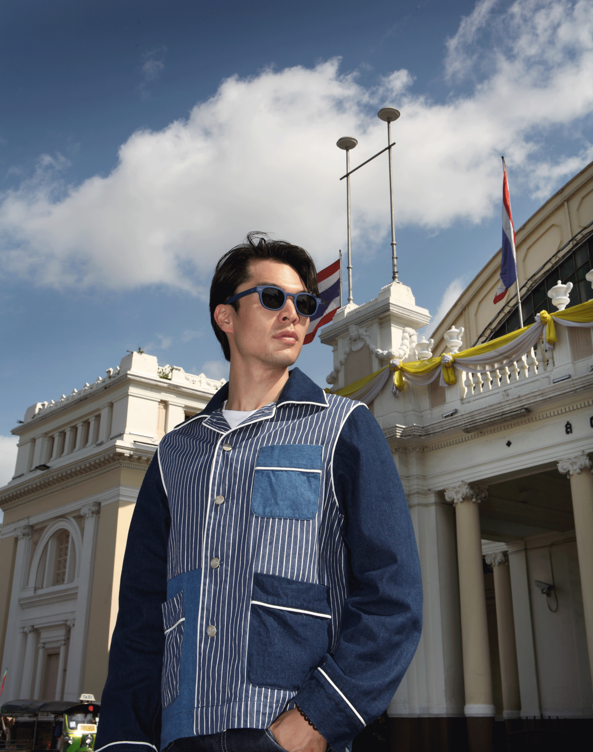 clothes : Everyday Karmakamet / sunglasses : IZIPIZI
