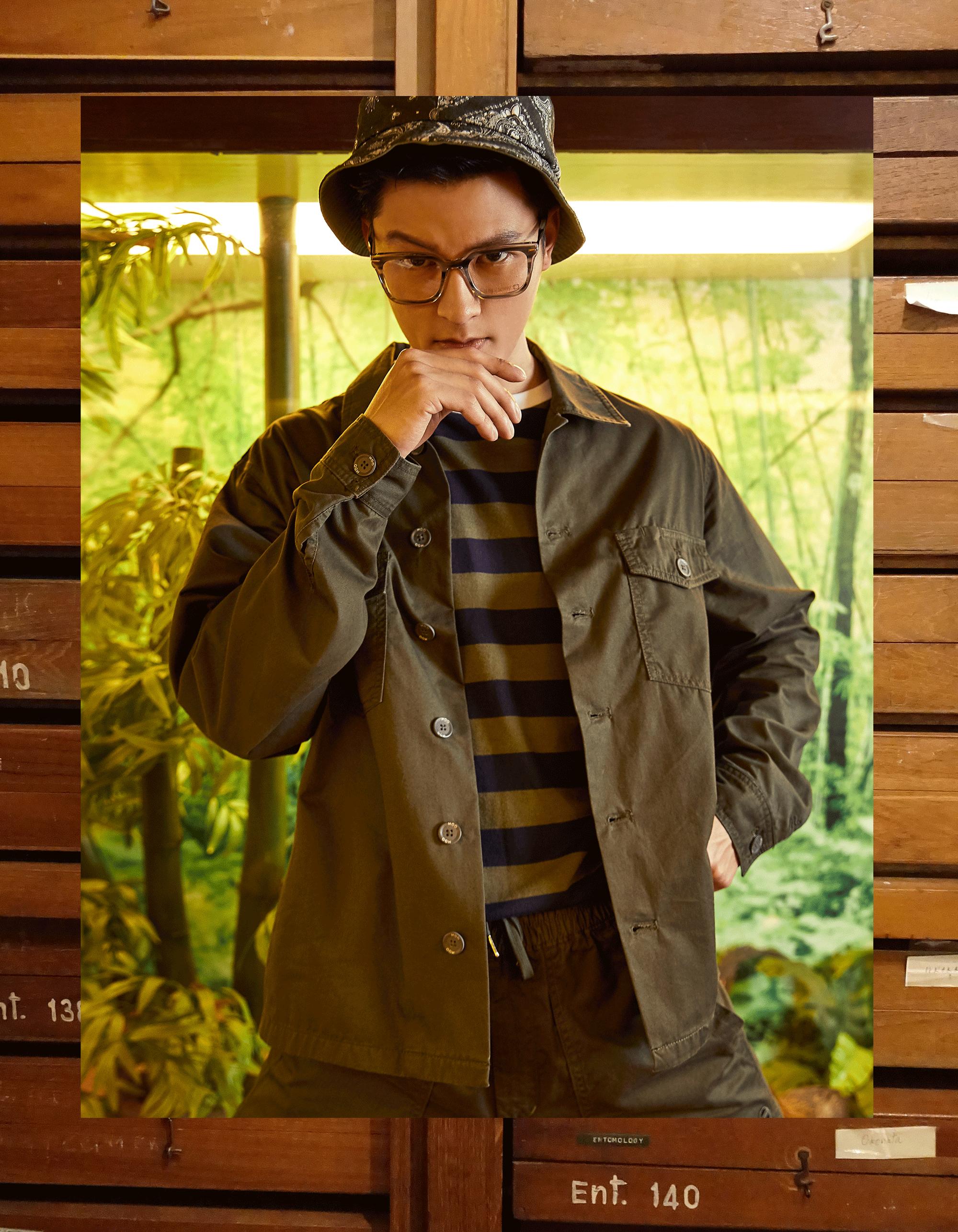clothes : MOO / eyeglasses : Blake Kuwahara