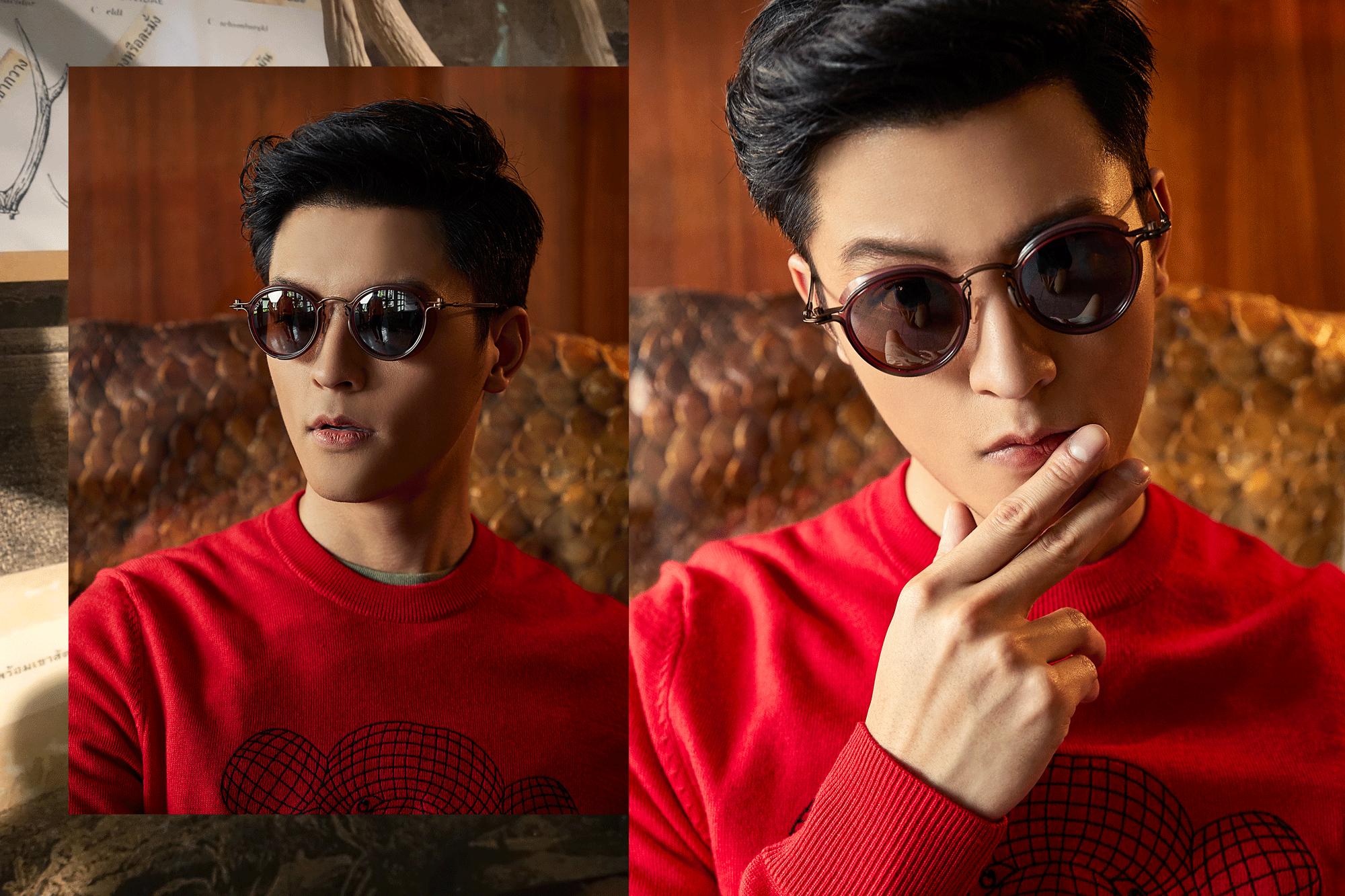 sweater : BlacK Barrette / sunglasses : TAVAT
