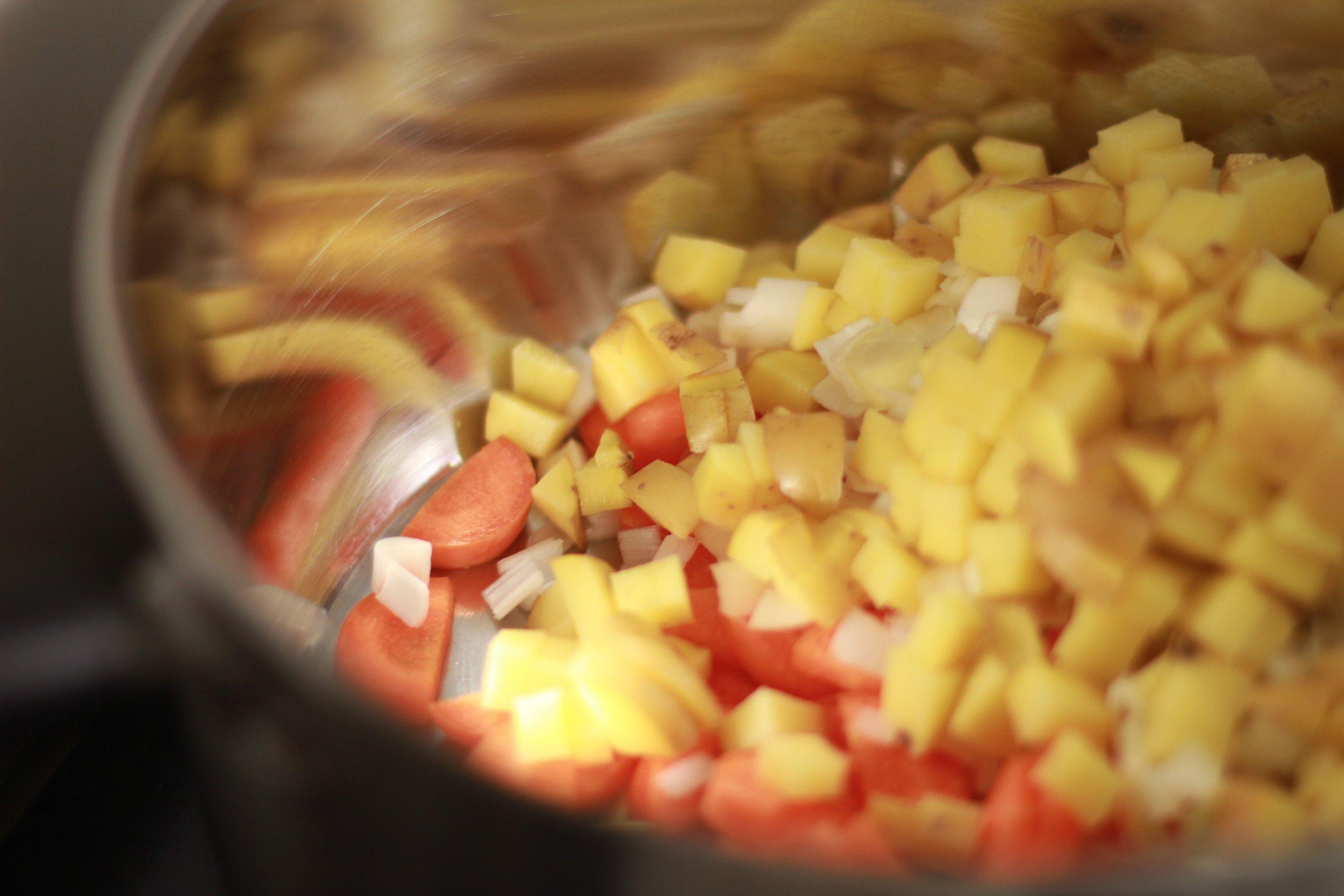 julia child on a hot plate: soupe au pistou | seekthewelfare