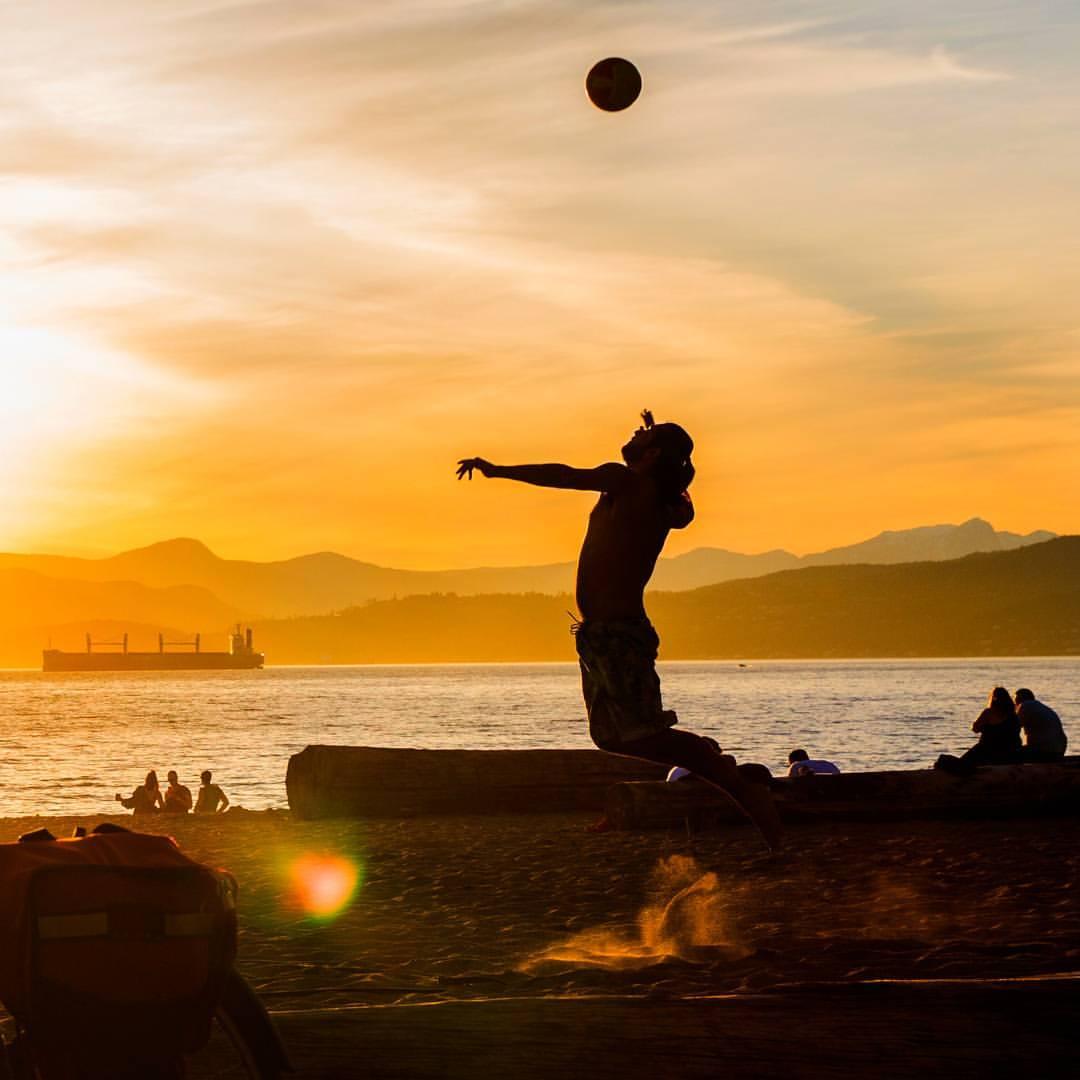 Beach Volleyball, Kitsilano Beach, Vancouver