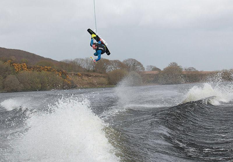 Wakeboarding, Carrig, Ireland