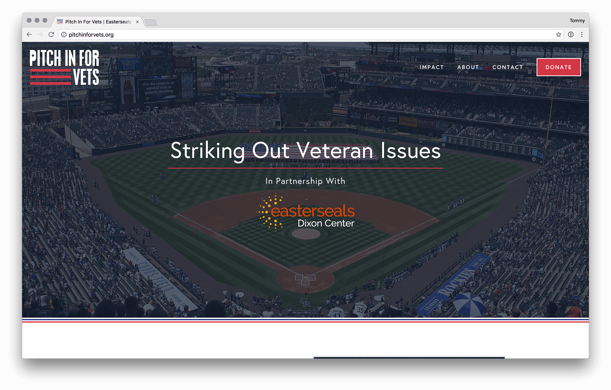 Pitch in for Vets // Easterseals